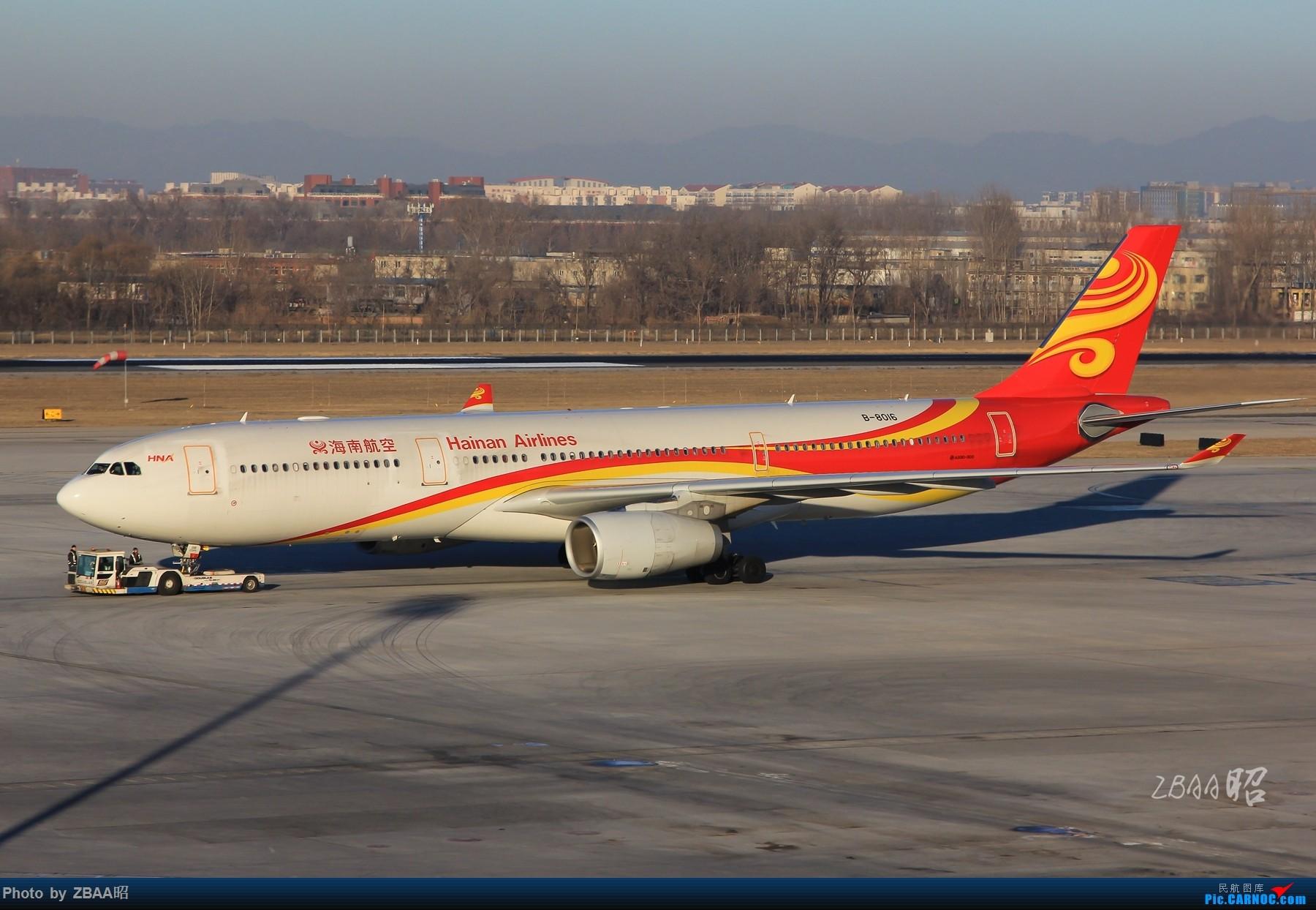 Re:[原创]飞友聚会后的独自疯狂,格林豪泰隔天怒打ZBAA 36L跑道,夜拍海航宽体机,寒风中坚守楼顶阵地 AIRBUS A330-300 B-8016 中国北京首都国际机场
