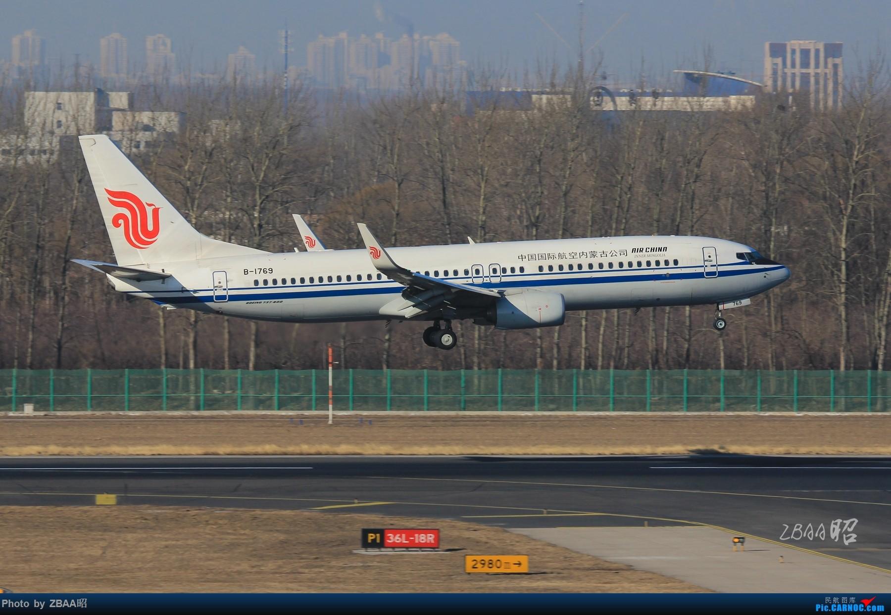 Re:[原创]飞友聚会后的独自疯狂,格林豪泰隔天怒打ZBAA 36L跑道,夜拍海航宽体机,寒风中坚守楼顶阵地 BOEING 737-800 B-1769 中国北京首都国际机场