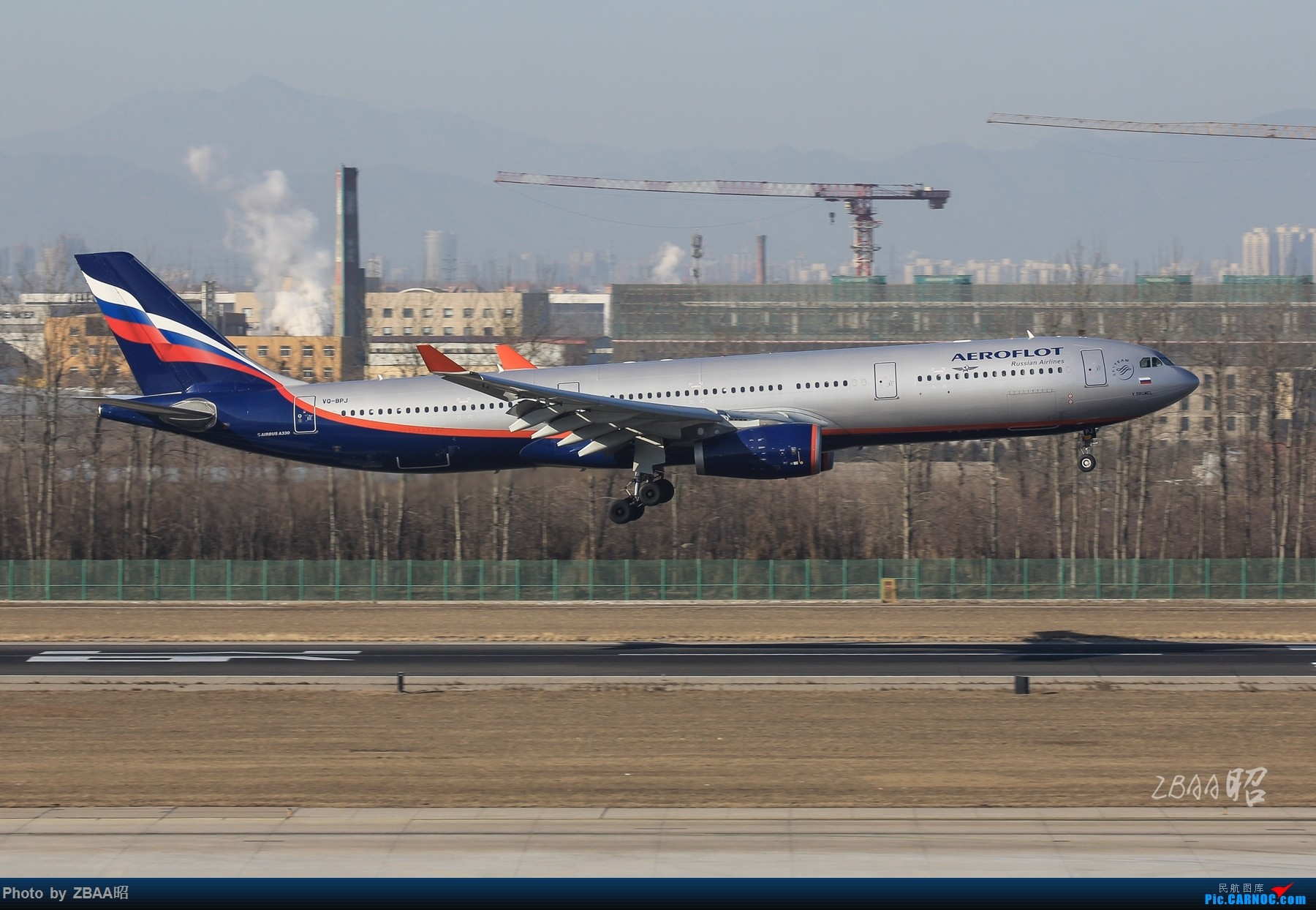Re:[原创]飞友聚会后的独自疯狂,格林豪泰隔天怒打ZBAA 36L跑道,夜拍海航宽体机,寒风中坚守楼顶阵地 AIRBUS A330-300 VQ-BPJ 中国北京首都国际机场