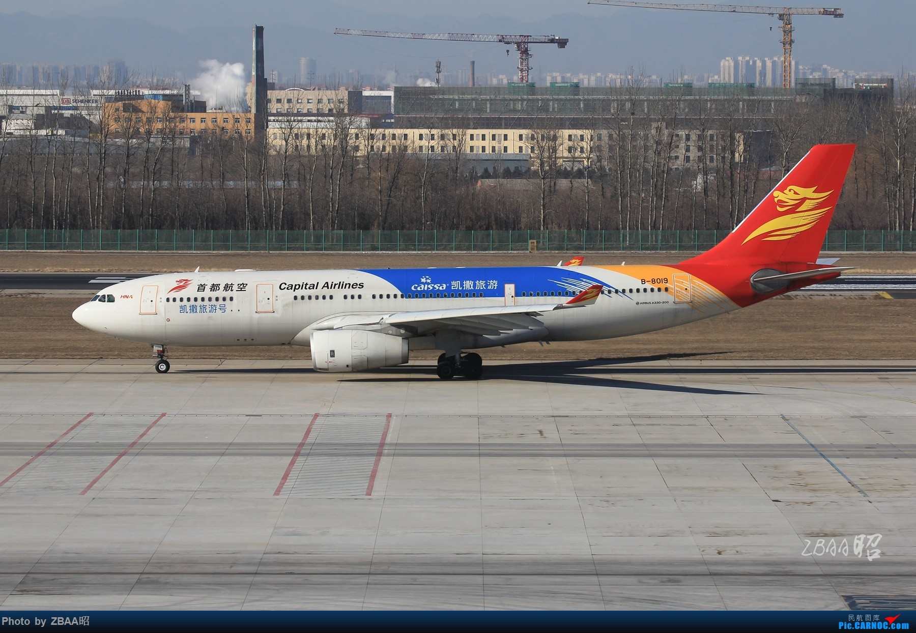 Re:[原创]飞友聚会后的独自疯狂,格林豪泰隔天怒打ZBAA 36L跑道,夜拍海航宽体机,寒风中坚守楼顶阵地 AIRBUS A330-200 B-8019 中国北京首都国际机场