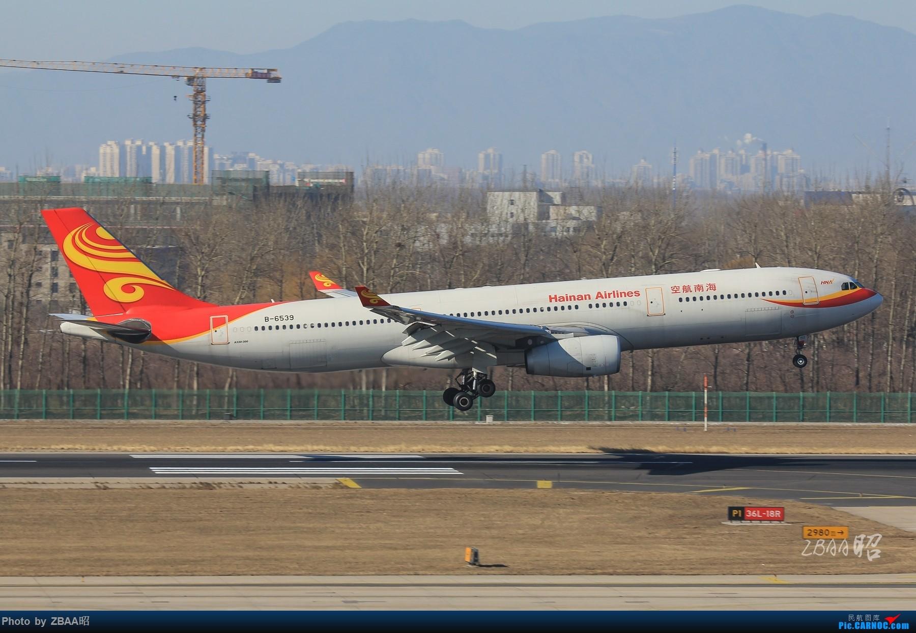 Re:[原创]飞友聚会后的独自疯狂,格林豪泰隔天怒打ZBAA 36L跑道,夜拍海航宽体机,寒风中坚守楼顶阵地 AIRBUS A330-300 B-6539 中国北京首都国际机场