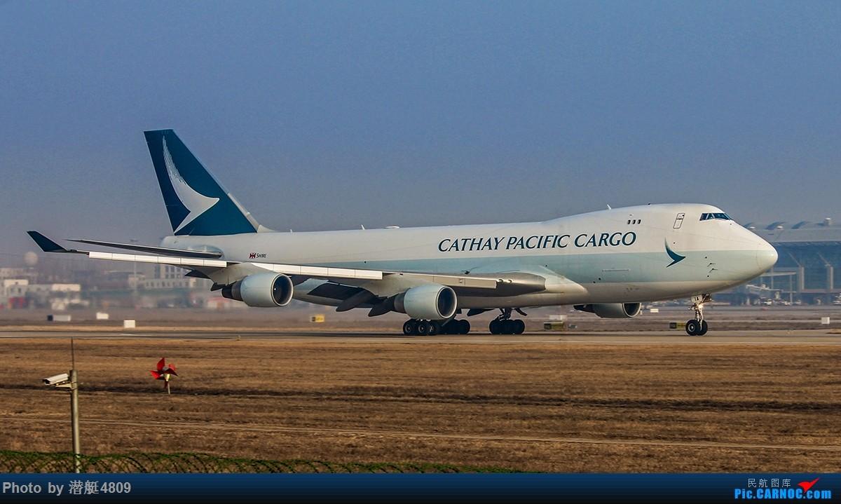[原创][郑州飞友会]国泰航空货机新装亮相新郑机场 BOEING 747-400 B-LIA 中国郑州新郑国际机场