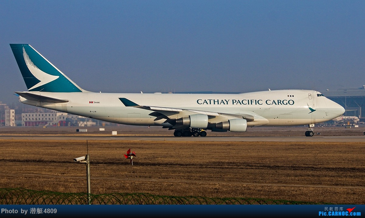 Re:[原创][郑州飞友会]国泰航空货机新装亮相新郑机场 BOEING 747-400 B-LIA 中国郑州新郑国际机场