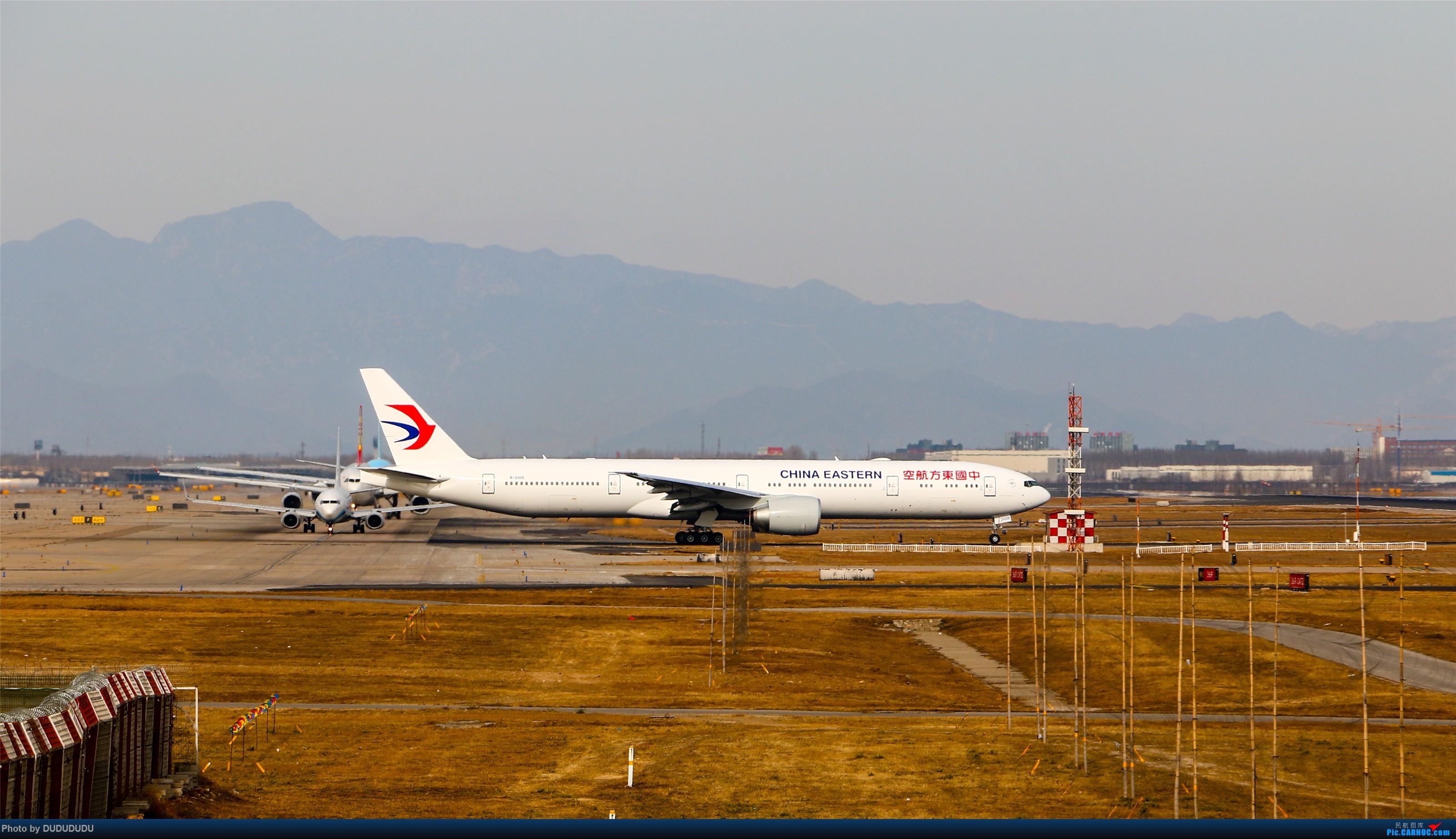 Re:[原创]【DUDUDUDU】从小白走来的这一年…… BOEING 777-300ER B-2005 中国北京首都国际机场