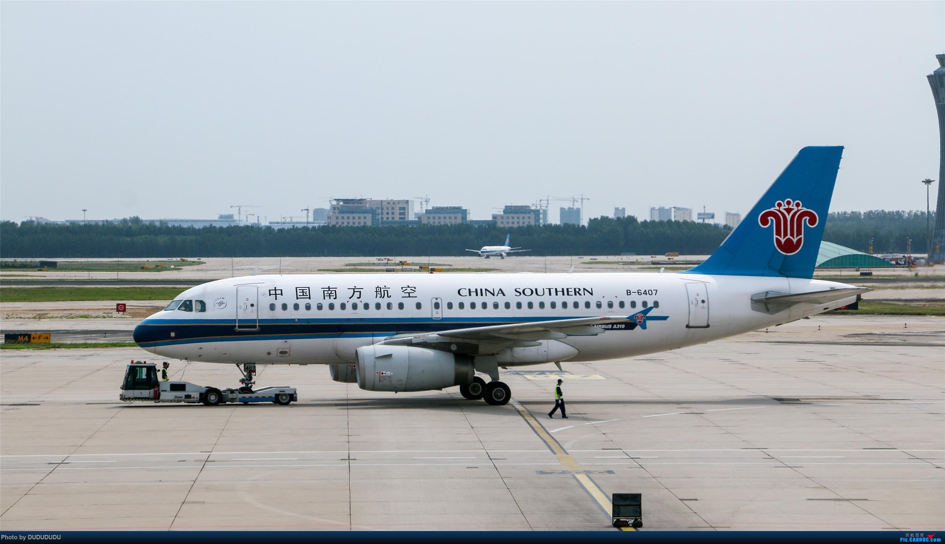 Re:[原创]【DUDUDUDU】从小白走来的这一年…… AIRBUS A319-100 B-6407 中国北京首都国际机场