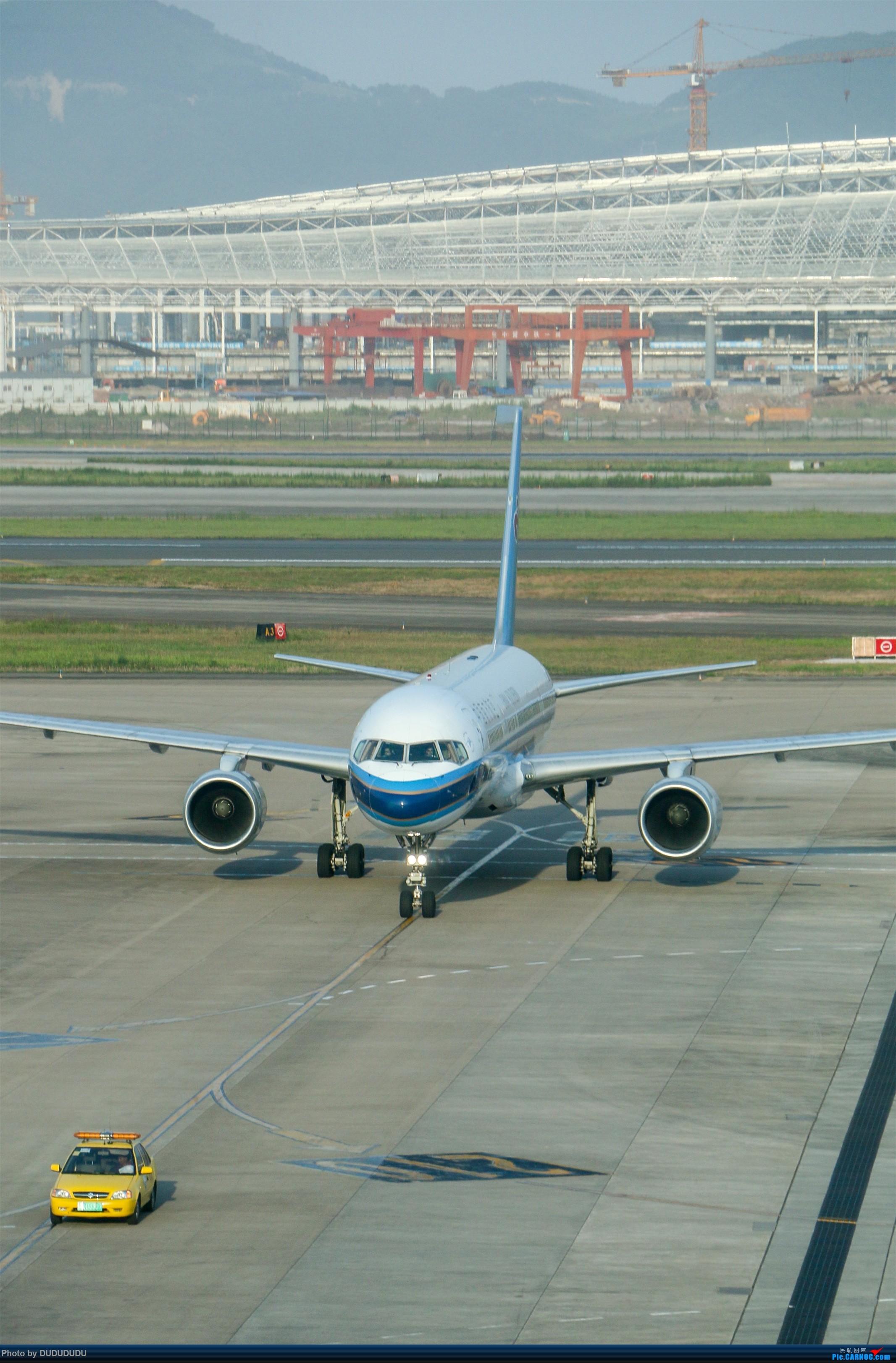 Re:[原创]【DUDUDUDU】从小白走来的这一年…… BOEING 757-200 B-2812 中国重庆江北国际机场