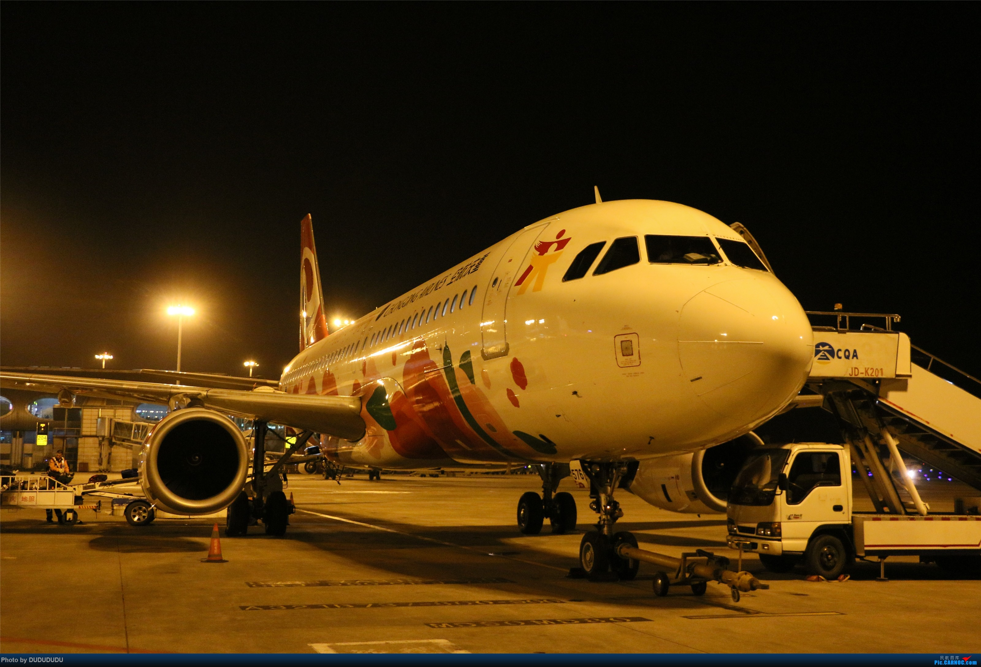 Re:[原创]【DUDUDUDU】从小白走来的这一年…… AIRBUS A320-200 B-6576 中国重庆江北国际机场