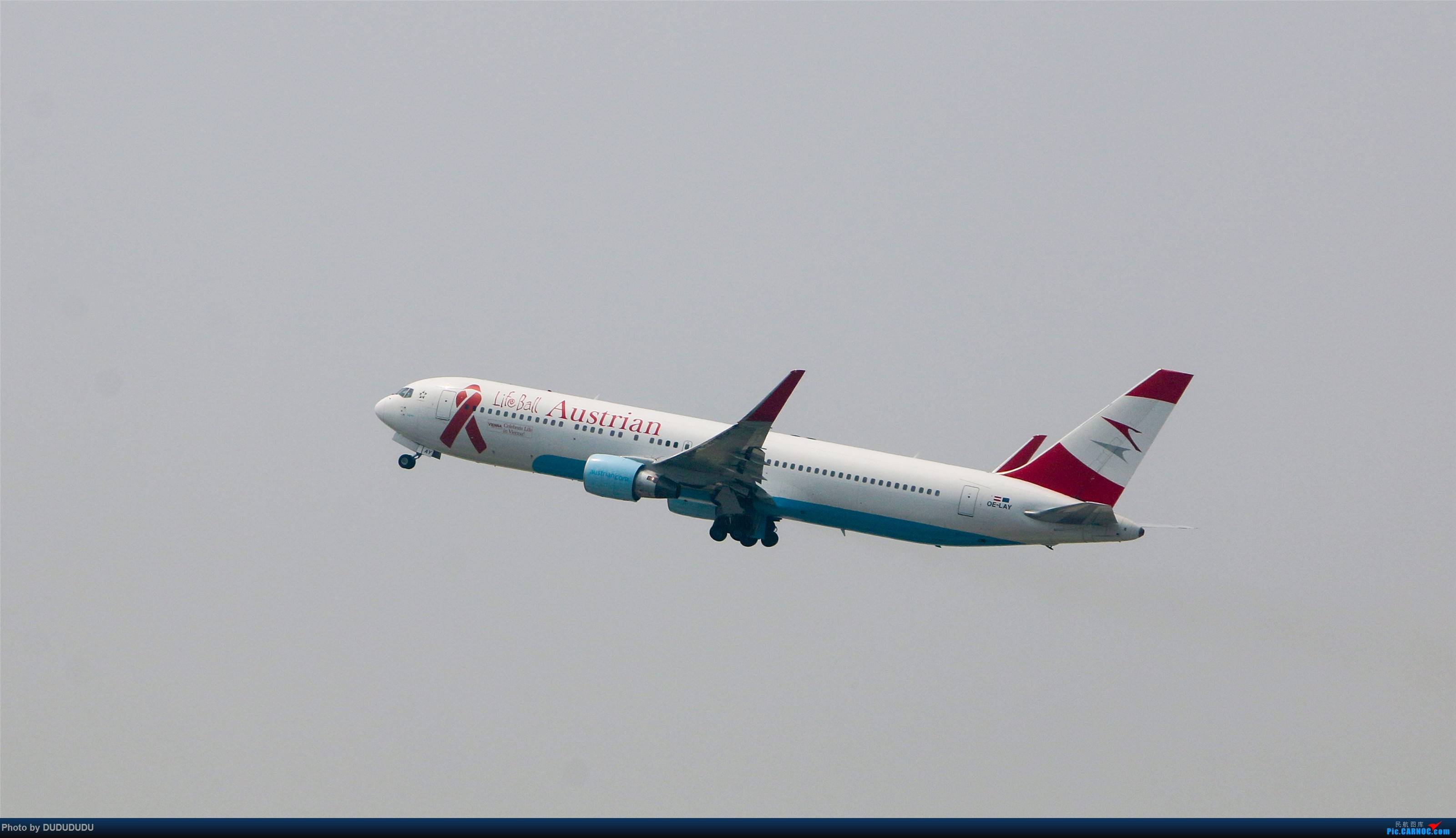 Re:[原创]【DUDUDUDU】从小白走来的这一年…… BOEING 767-300ER OE-LAY 中国北京首都国际机场
