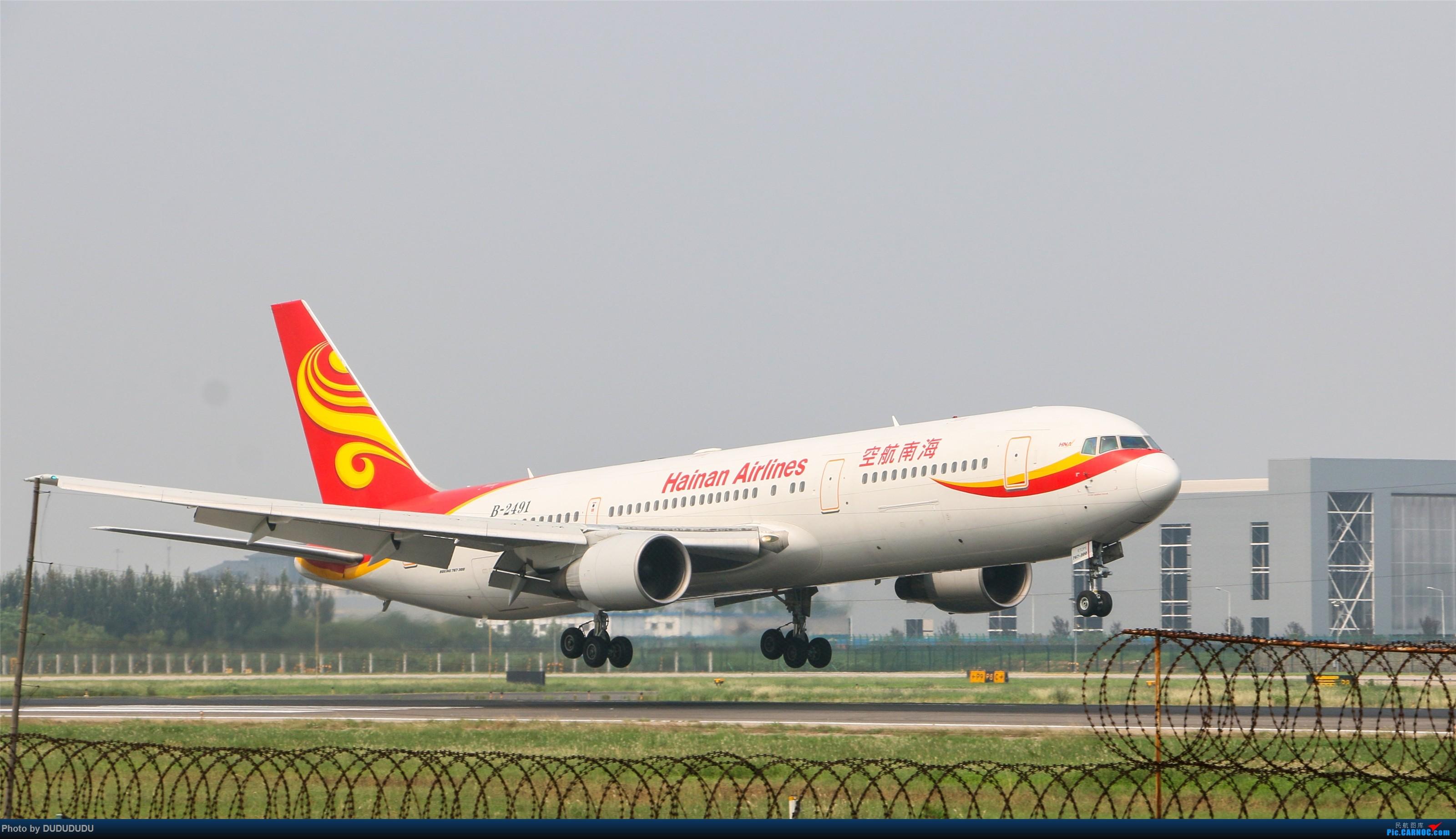 Re:[原创]【DUDUDUDU】从小白走来的这一年…… BOEING 767-300 B-2491 中国北京首都国际机场