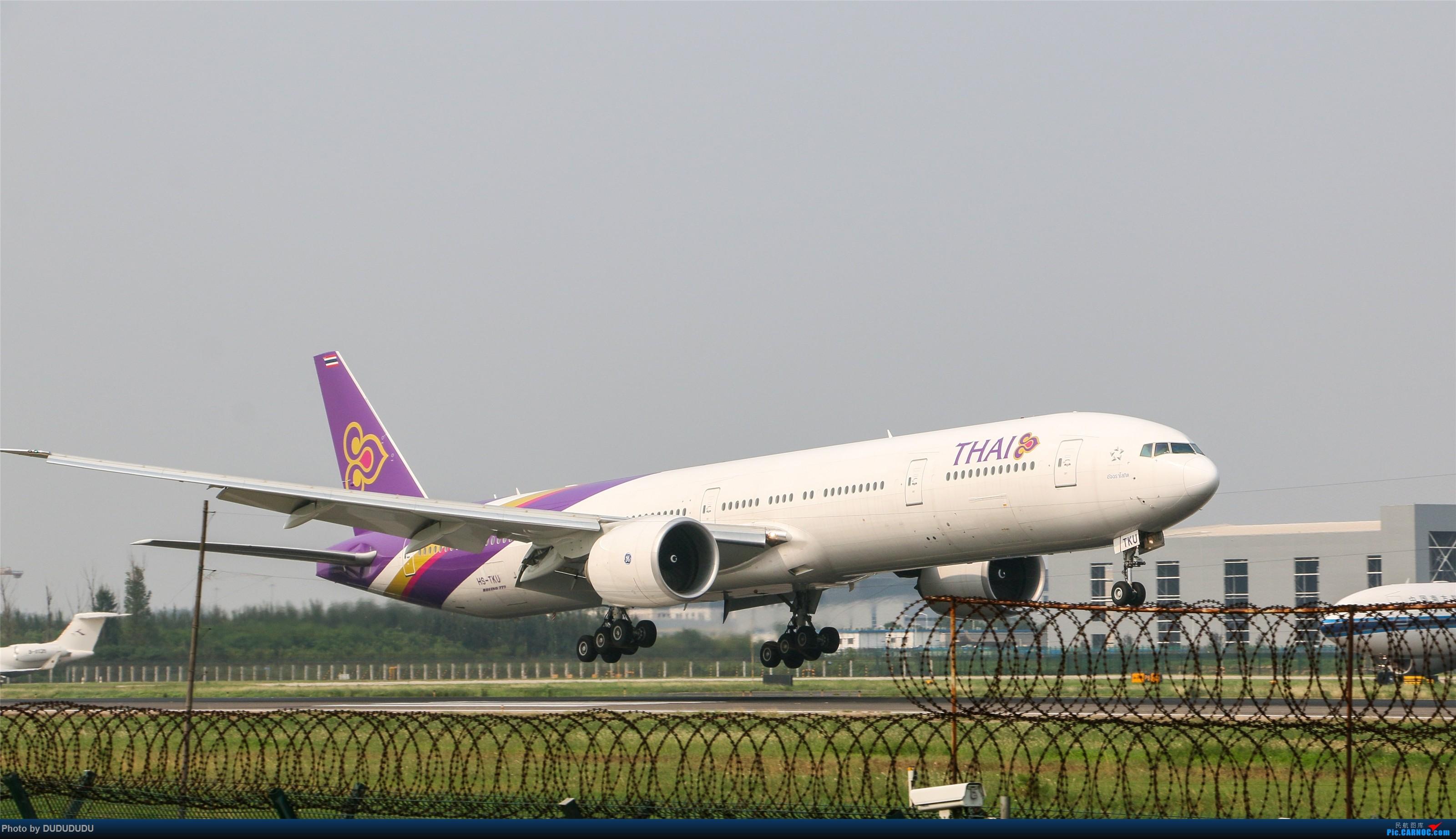 Re:[原创]【DUDUDUDU】从小白走来的这一年…… BOEING 777-300ER HS-TKU 中国北京首都国际机场
