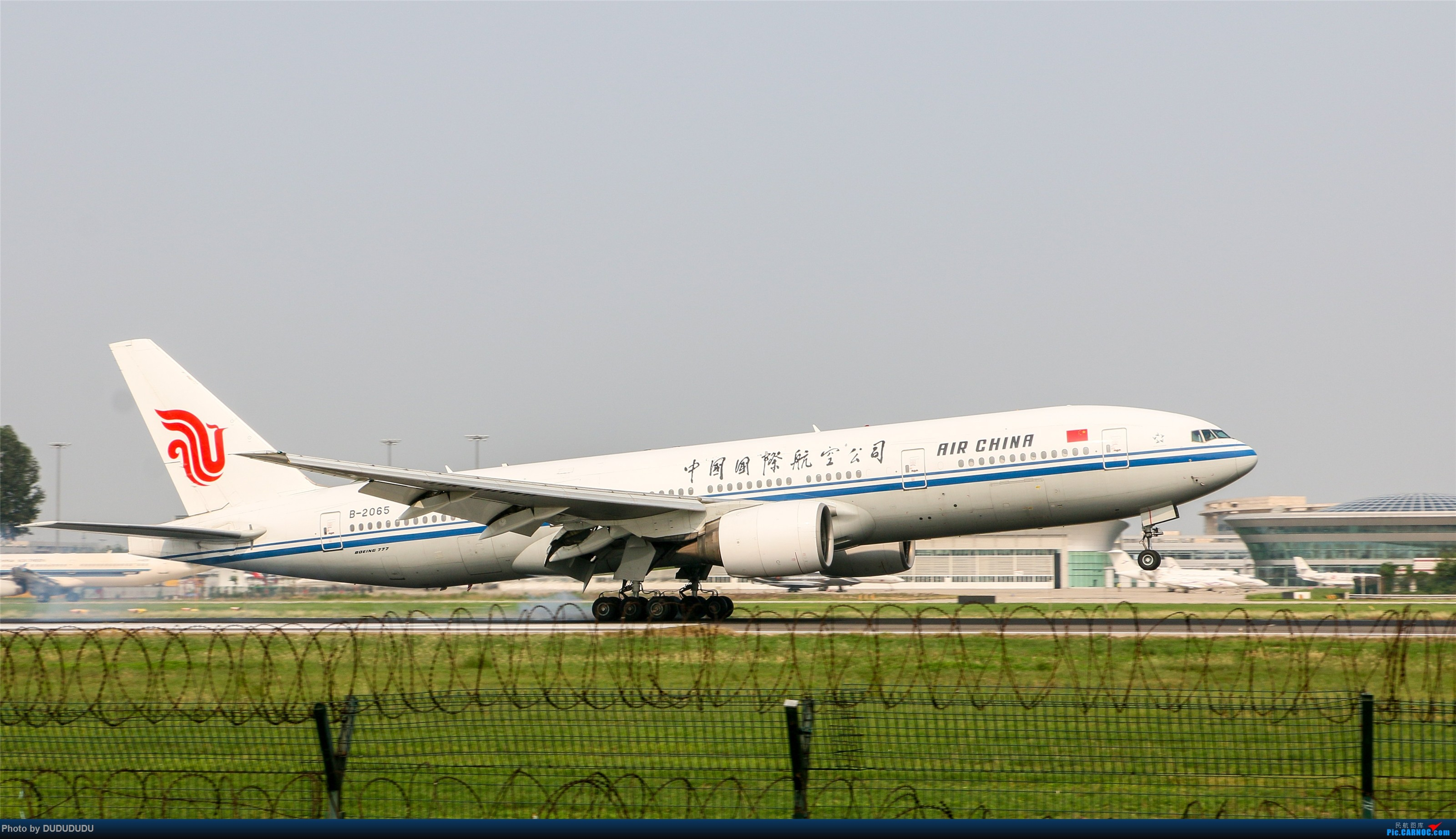 Re:[原创]【DUDUDUDU】从小白走来的这一年…… BOEING 777-200 B-2065 中国北京首都国际机场
