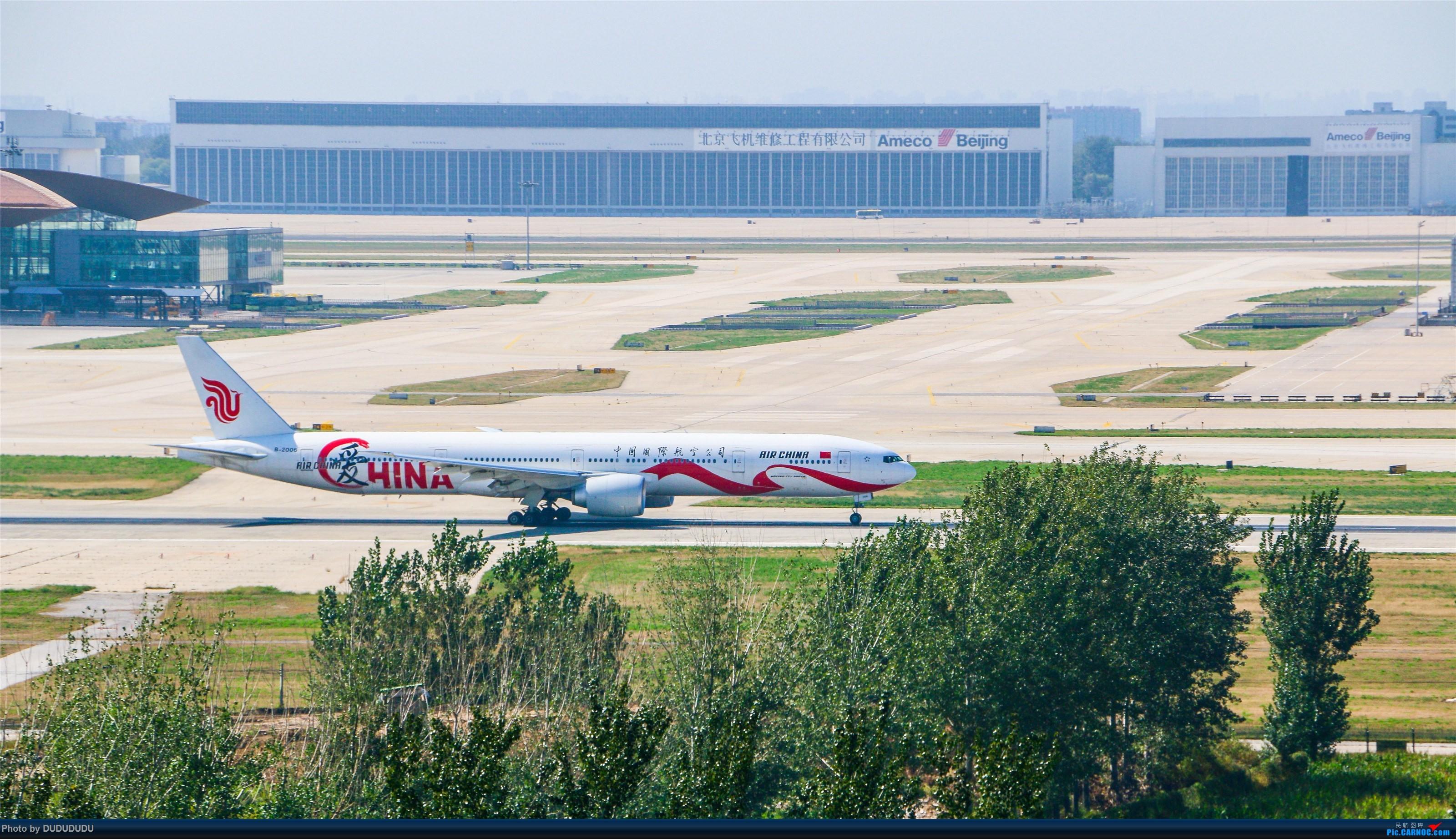 Re:[原创]【DUDUDUDU】从小白走来的这一年…… BOEING 777-300ER B-2006 中国北京首都国际机场