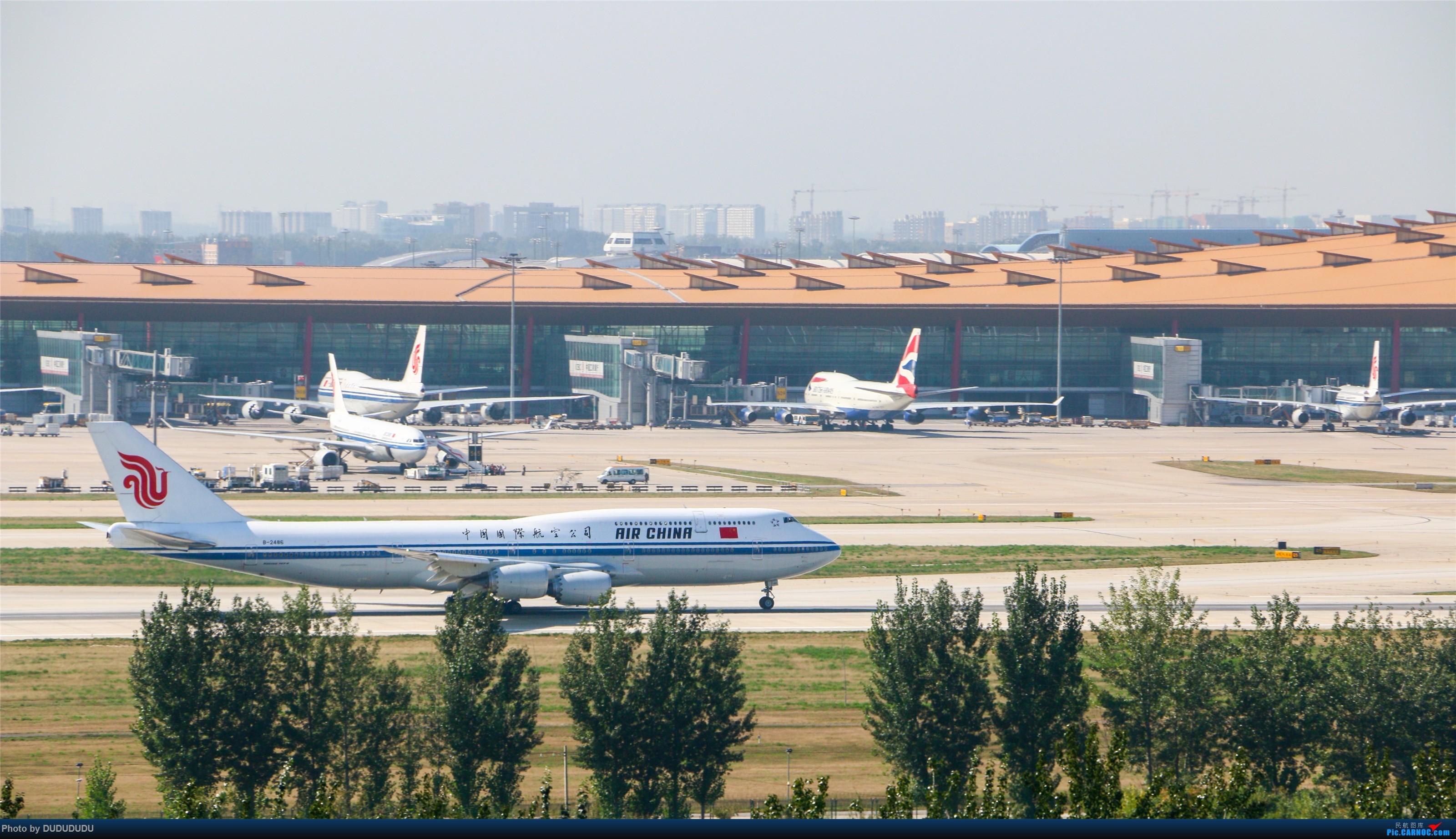 Re:[原创]【DUDUDUDU】从小白走来的这一年…… BOEING 747-8I B-2486 中国北京首都国际机场
