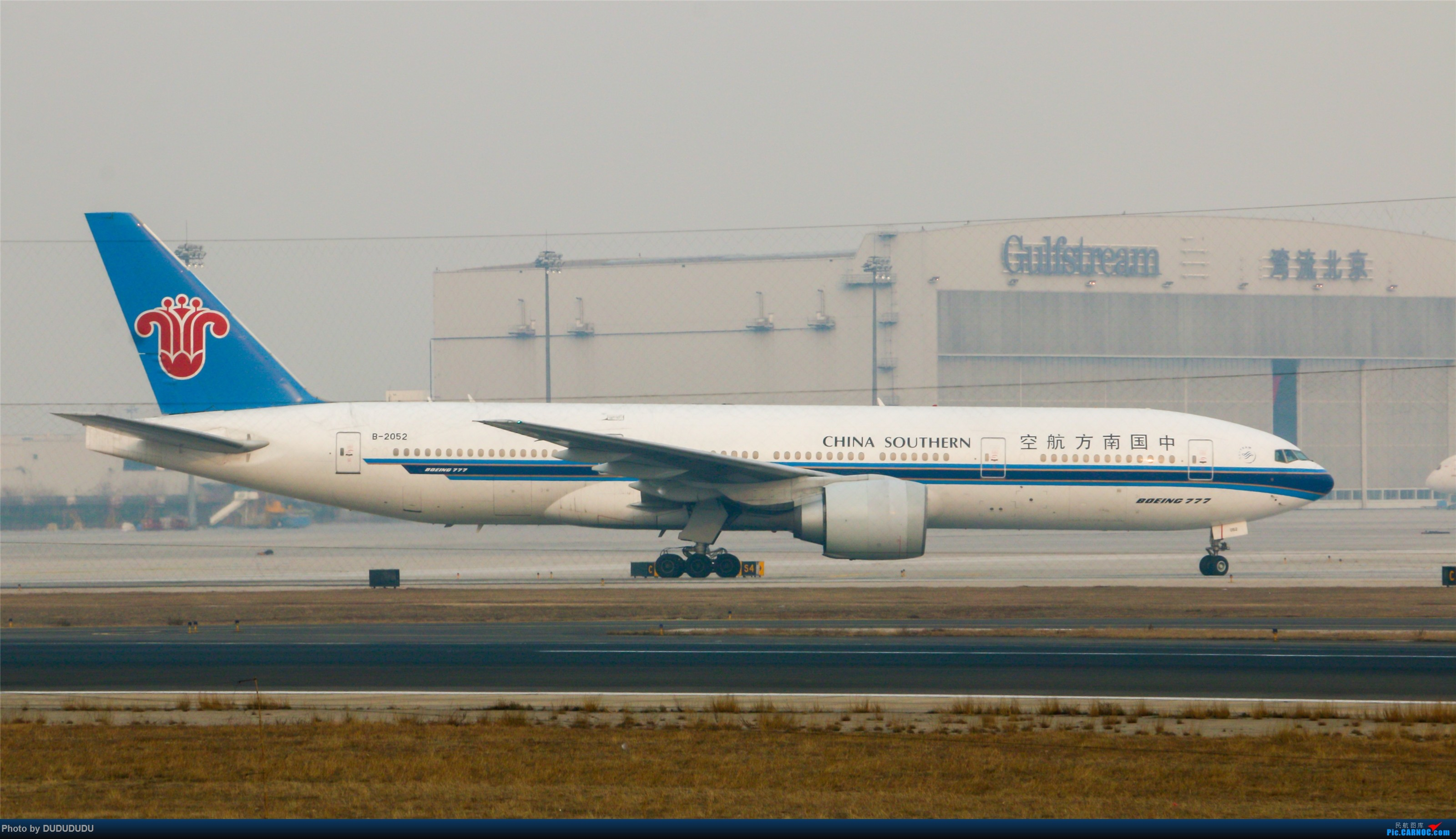 Re:[原创]【DUDUDUDU】从小白走来的这一年…… BOEING 777-200 B-2052 中国北京首都国际机场