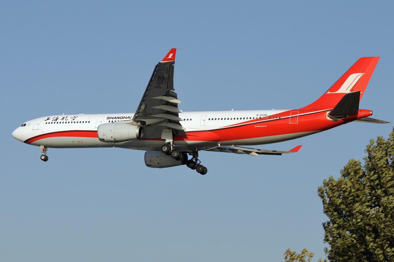 Re:[原创]SHA拍机 各种地主上航飞机 最喜欢的涂装 AIRBUS A330-300 B-6096 中国上海虹桥国际机场