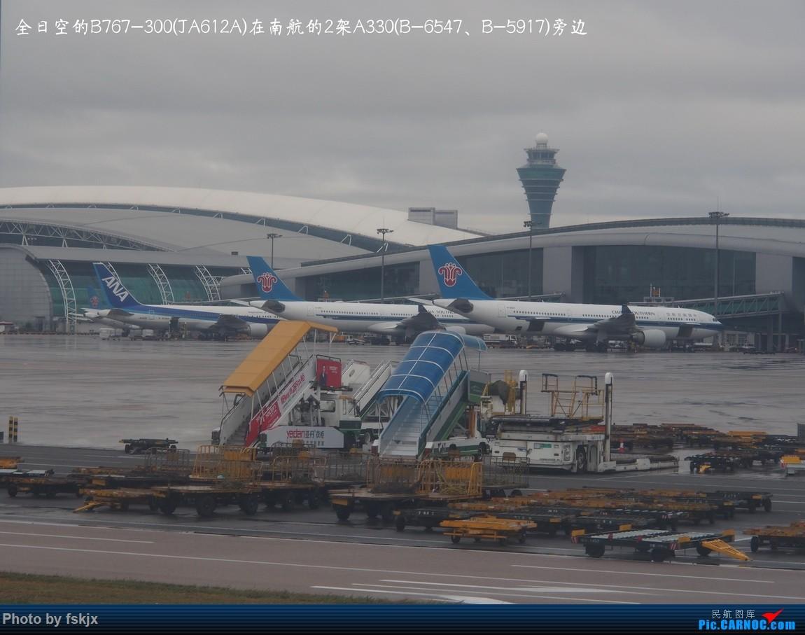 【fskjx的飞行游记☆25】慢游曼谷 BOEING 767-300 JA612A 中国广州白云国际机场