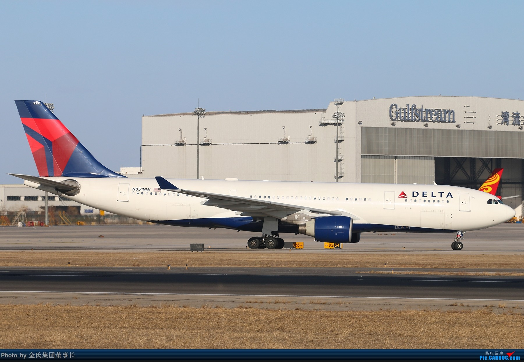 Re:[原创]【董事长】PEK西跑.好天好货 AIRBUS A330 N851NW 中国北京首都国际机场
