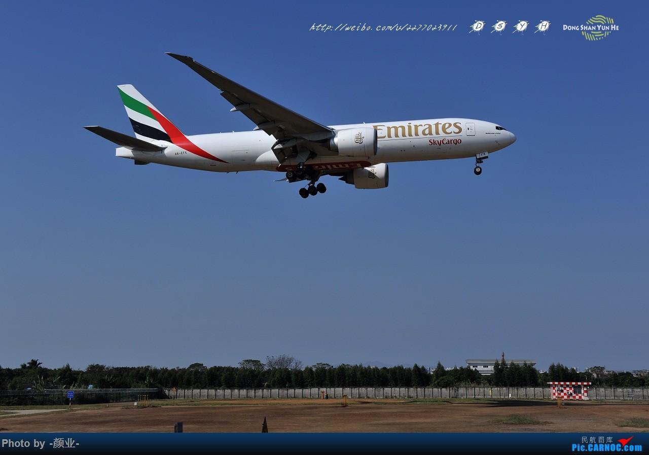 Re:[原创]ZGGG(广州CAN)的波音777系列-继续更新 BOEING 777-200 A6-EFK 中国广州白云国际机场