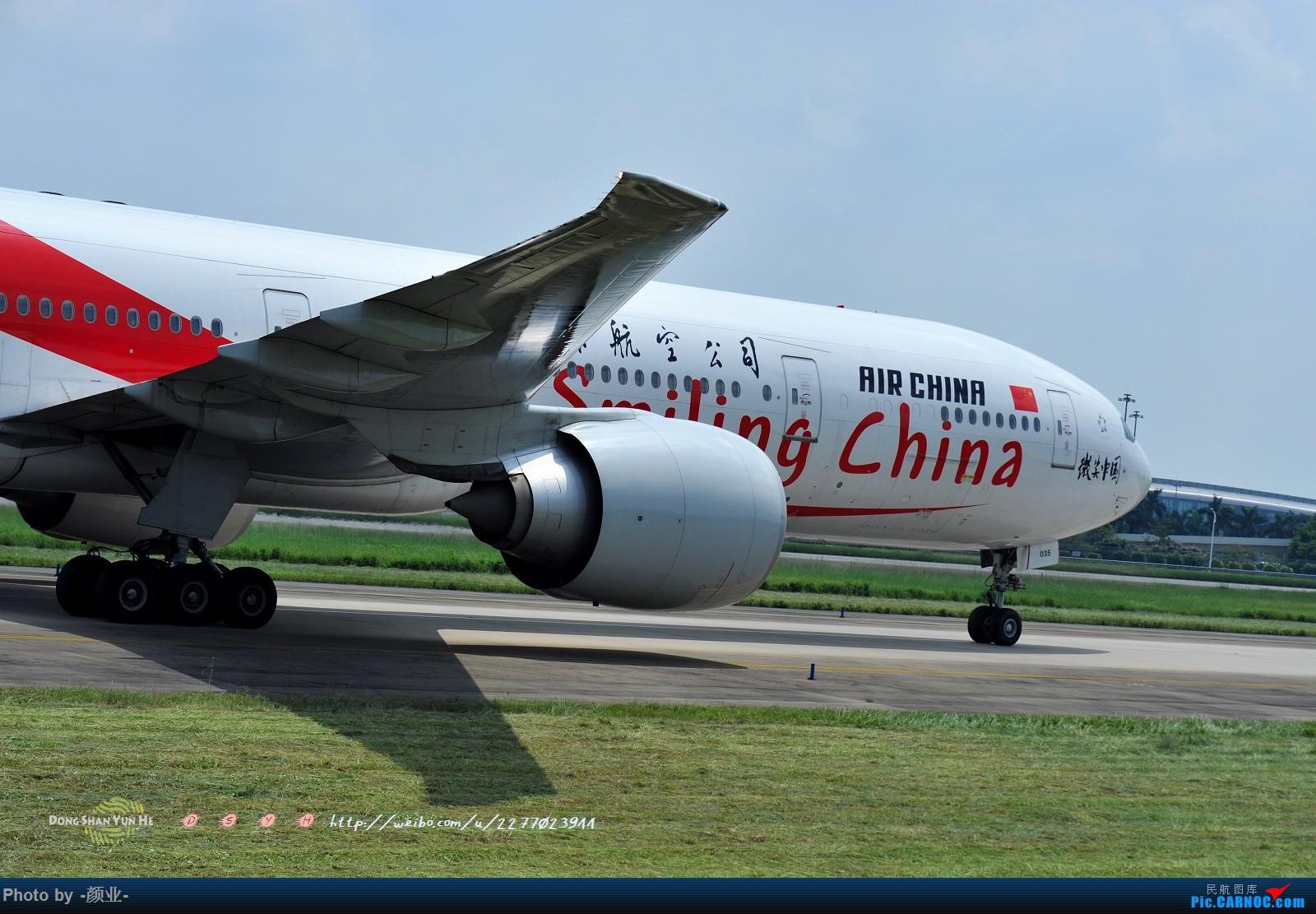 Re:[原创]ZGGG(广州CAN)的波音777系列-继续更新 BOEING 777-300ER B-2035 中国广州白云国际机场