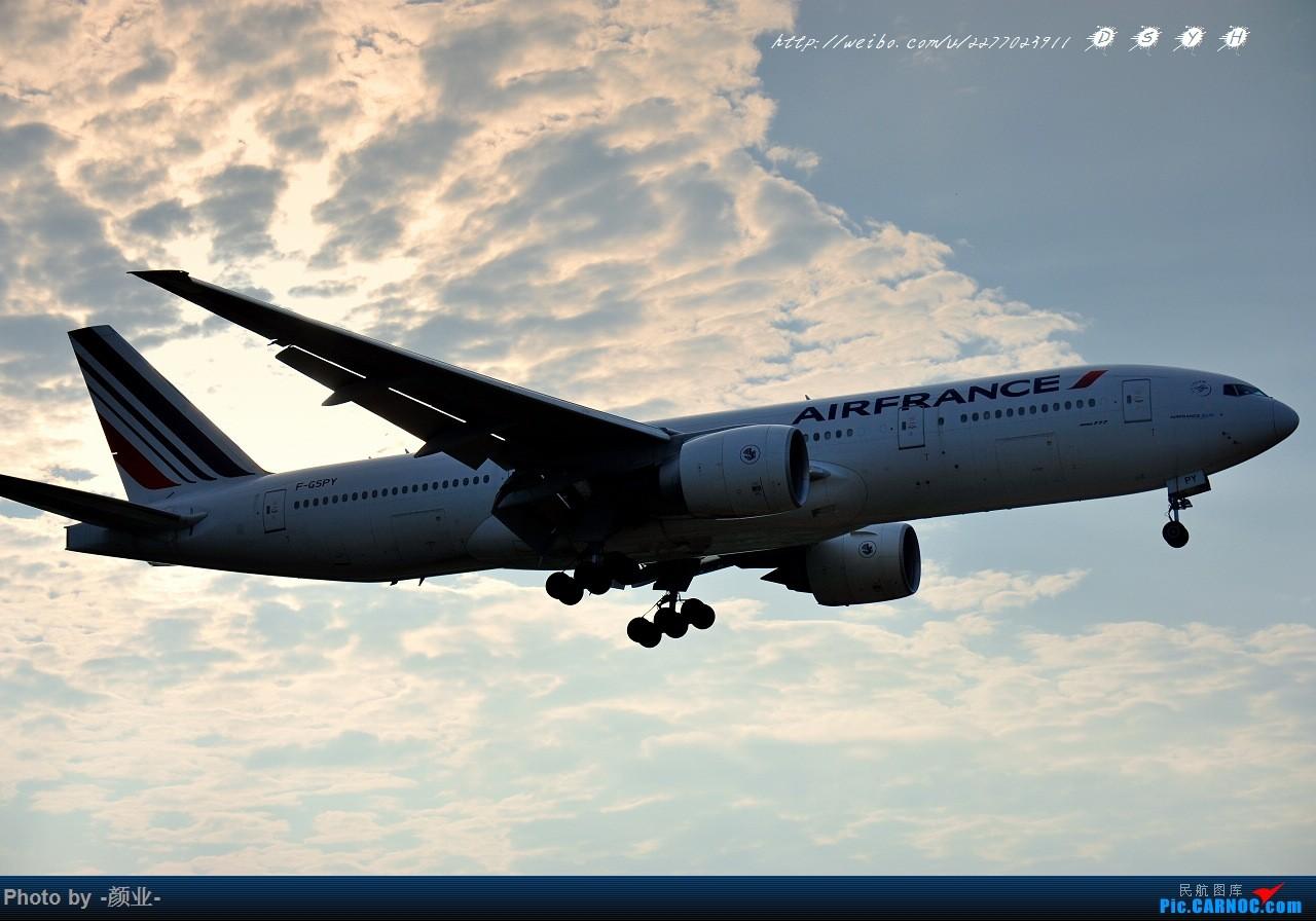 Re:[原创]ZGGG(广州CAN)的波音777系列-继续更新 BOEING 777-200 F-GSPY 中国广州白云国际机场