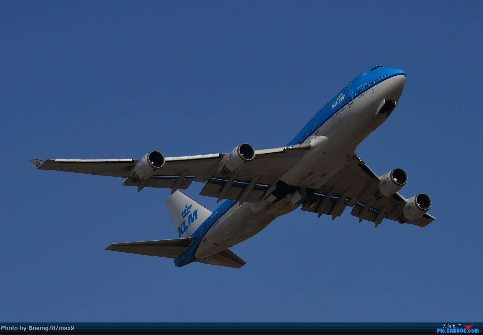 [原创]【PEK】今日东停车场蹲点,好货一堆。KLM744、DELTA763、国航星空332、国航748、最重要的是朝鲜的图204、还有国航中法50年77W、汉莎346 BOEING 747-400 PH-BFI 中国北京首都国际机场