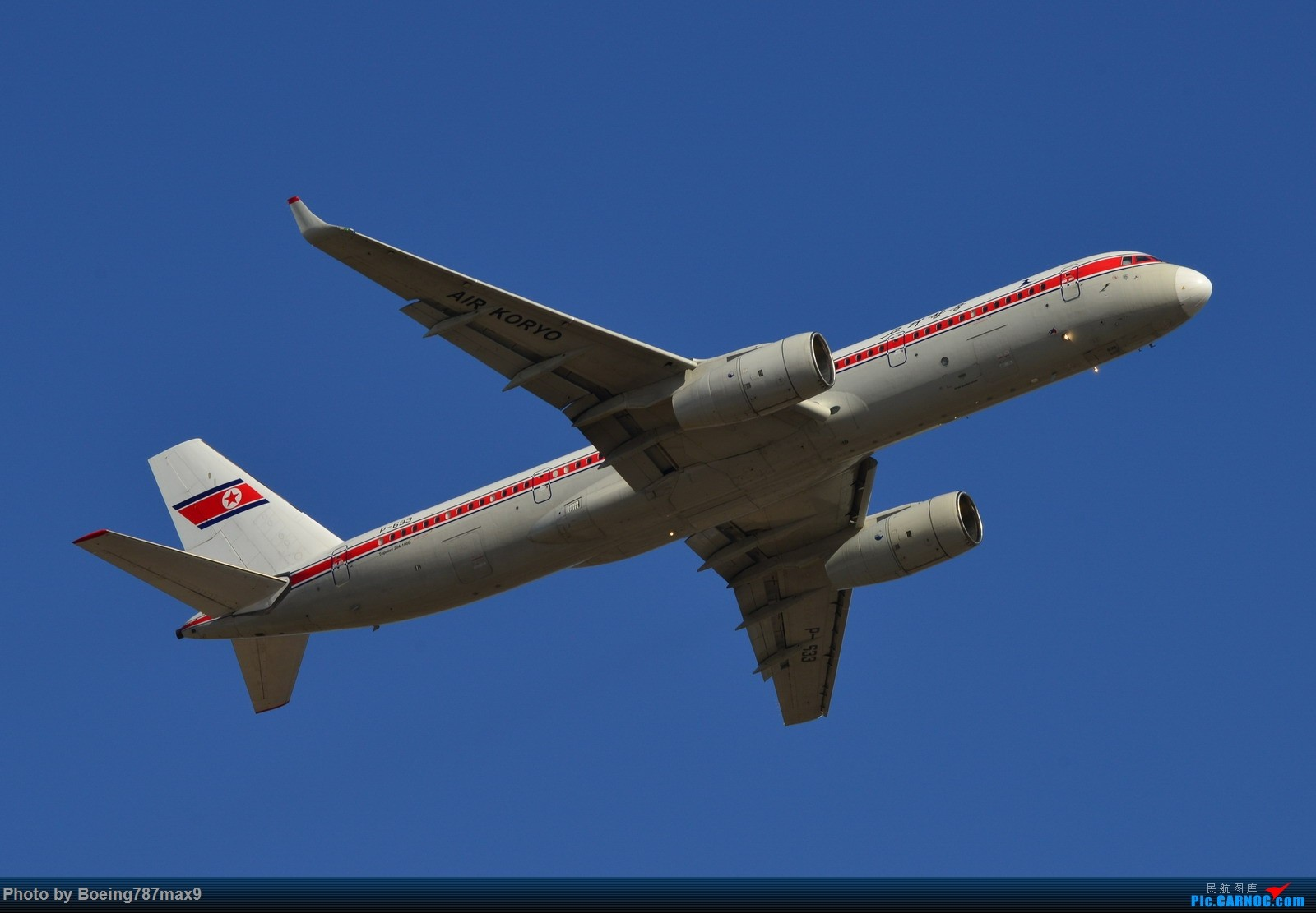 Re:【PEK】今日东停车场蹲点,好货一堆。KLM744、DELTA763、国航星空332、国航748、最重要的是朝鲜的图204、还有国航中法50年77W、汉莎346 TUPOLEV TU-204-100B P-633 中国北京首都国际机场