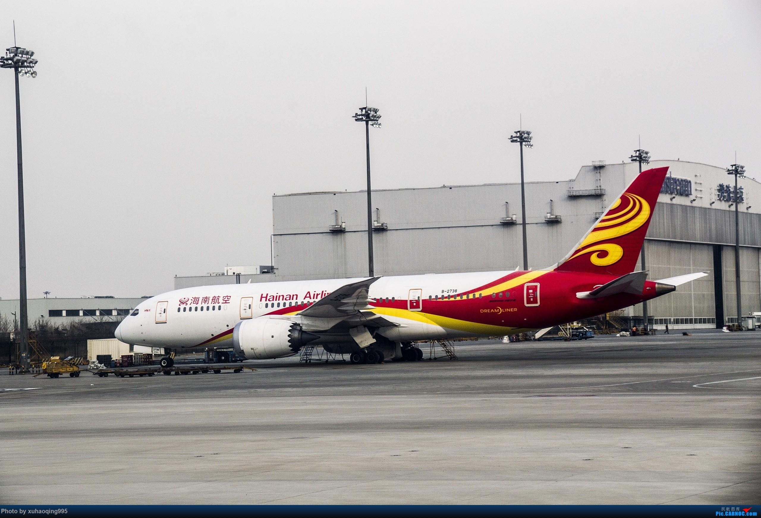[原创]首都机场随拍 BOEING 787-8 B-2738 中国北京首都国际机场