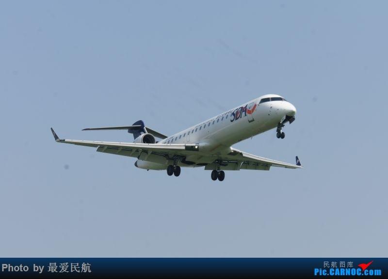 Re:[原创]小地方,大发现,太原武宿机场半年来的拍机记录 BOMBARDIER CRJ-700 B-3080 中国太原武宿国际机场