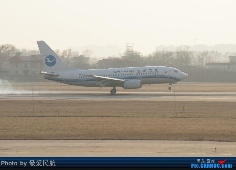 Re:[原创]小地方,大发现,太原武宿机场半年来的拍机记录 BOEING 737-700 B-5038 中国太原武宿国际机场
