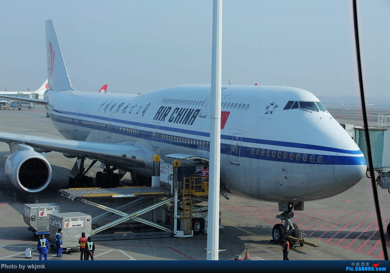 [原创]广州拍即之旅 BOEING 747-8I B-2485 中国重庆江北国际机场