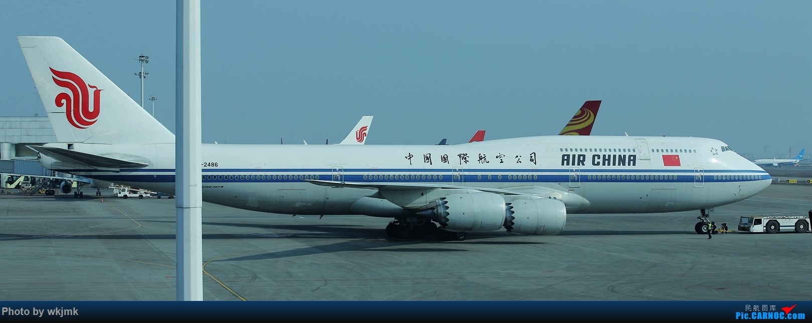 Re:[原创]广州拍即之旅 BOEING 747-8I B-2485 中国重庆江北国际机场
