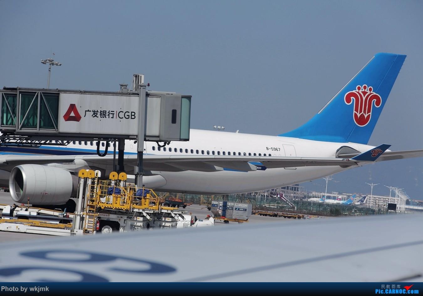 Re:[原创]广州拍即之旅 AIRBUS A330-300 B-5967 中国广州白云国际机场