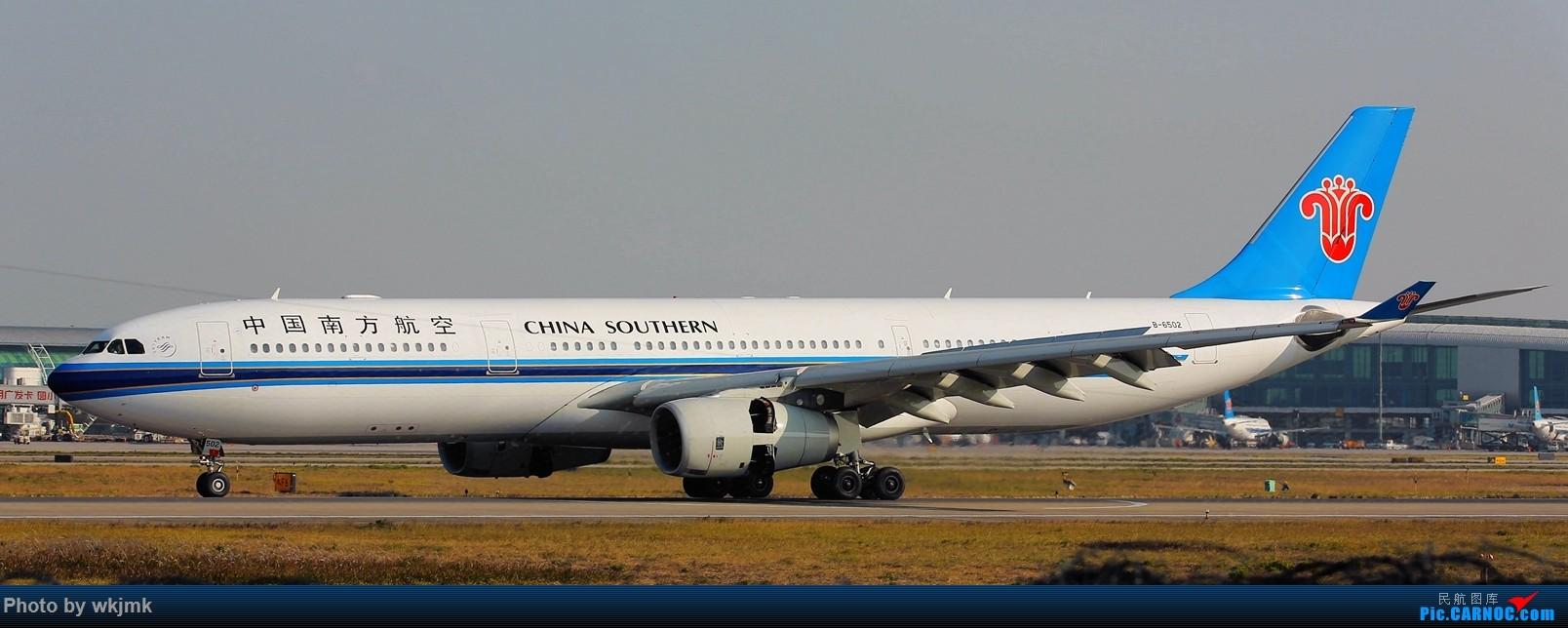 Re:[原创]广州拍即之旅 AIRBUS A330-300 B-6502 中国广州白云国际机场