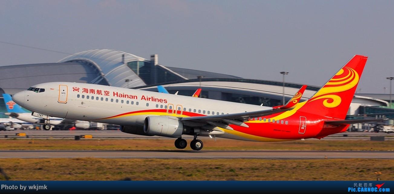 Re:[原创]广州拍即之旅 BOEING 737-800 B-1787 中国广州白云国际机场
