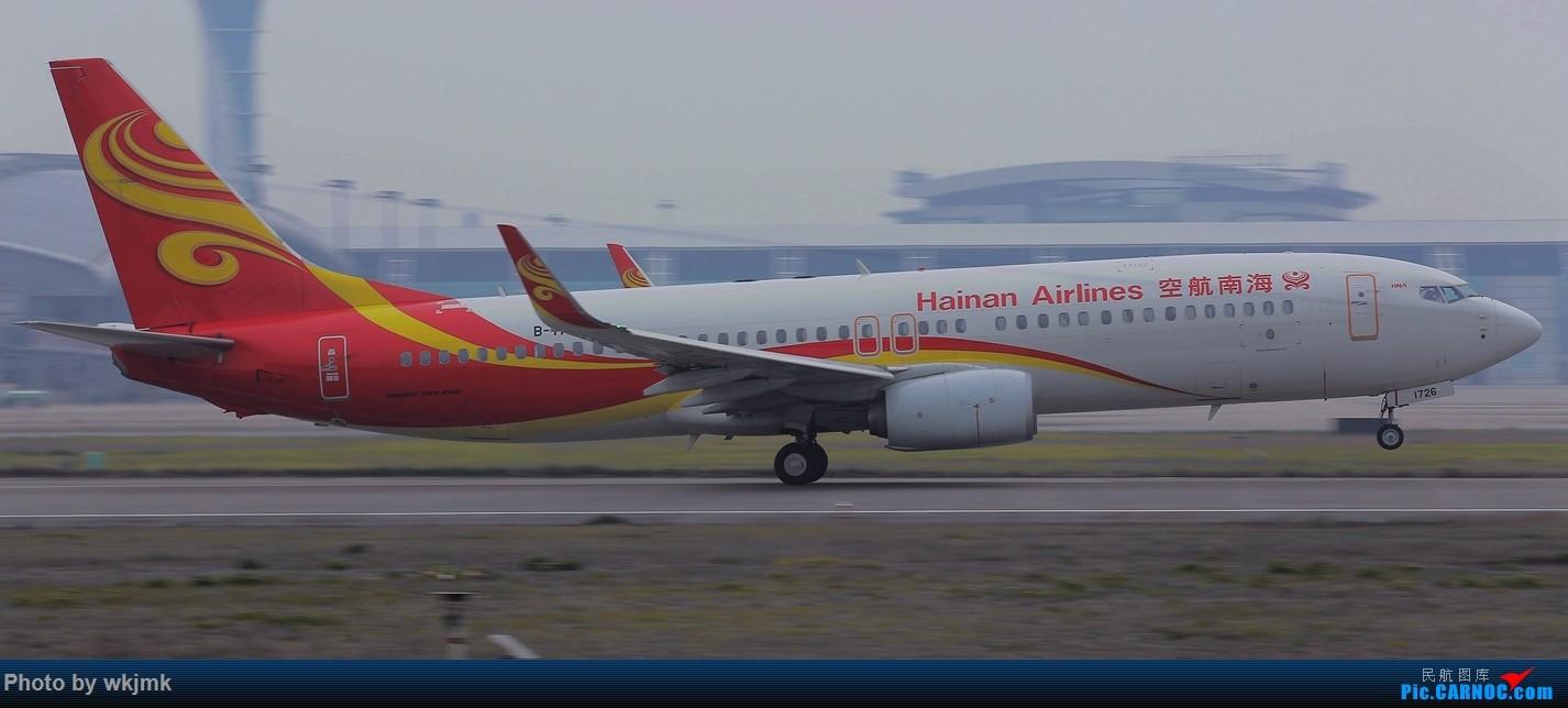 Re:[原创]广州拍即之旅 BOEING 737-800 B-1726 中国广州白云国际机场