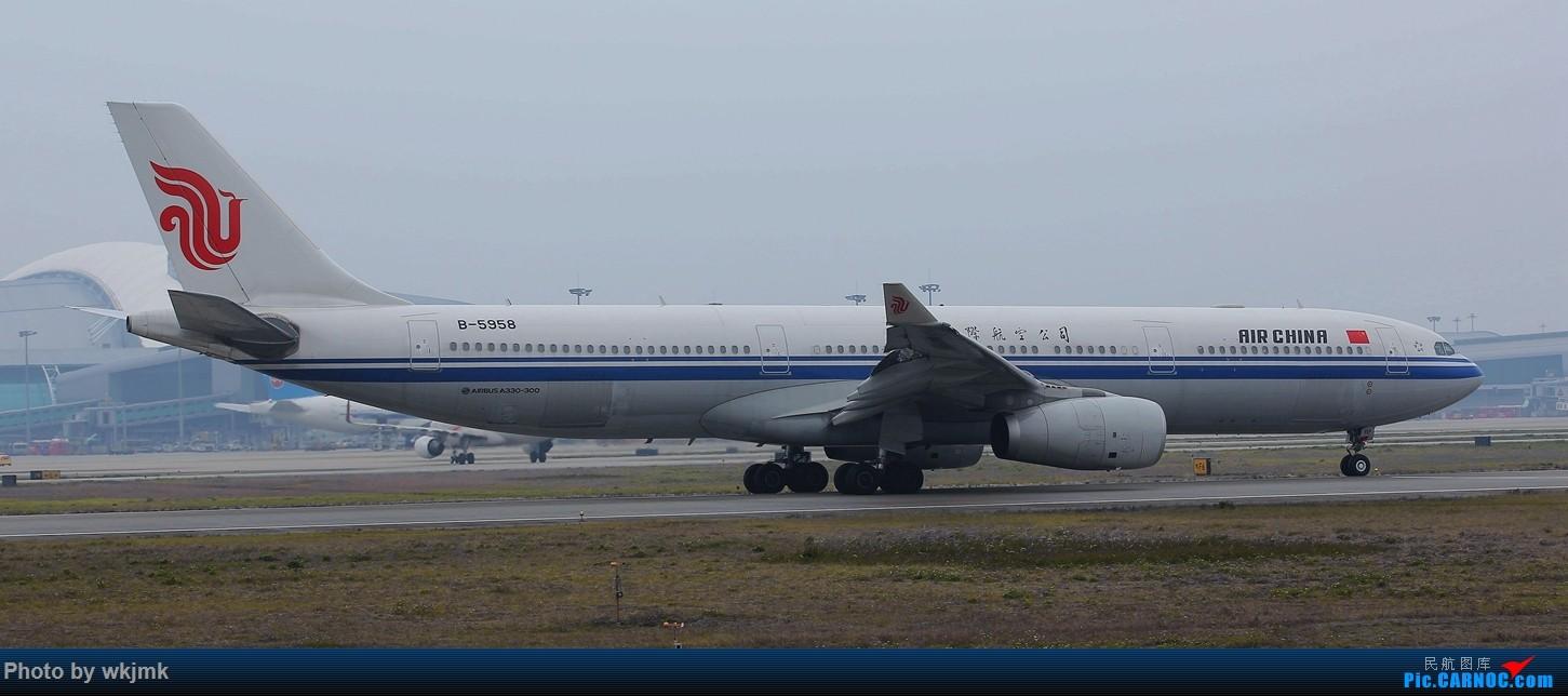 Re:[原创]广州拍即之旅 AIRBUS A330-300 B-5958 中国广州白云国际机场