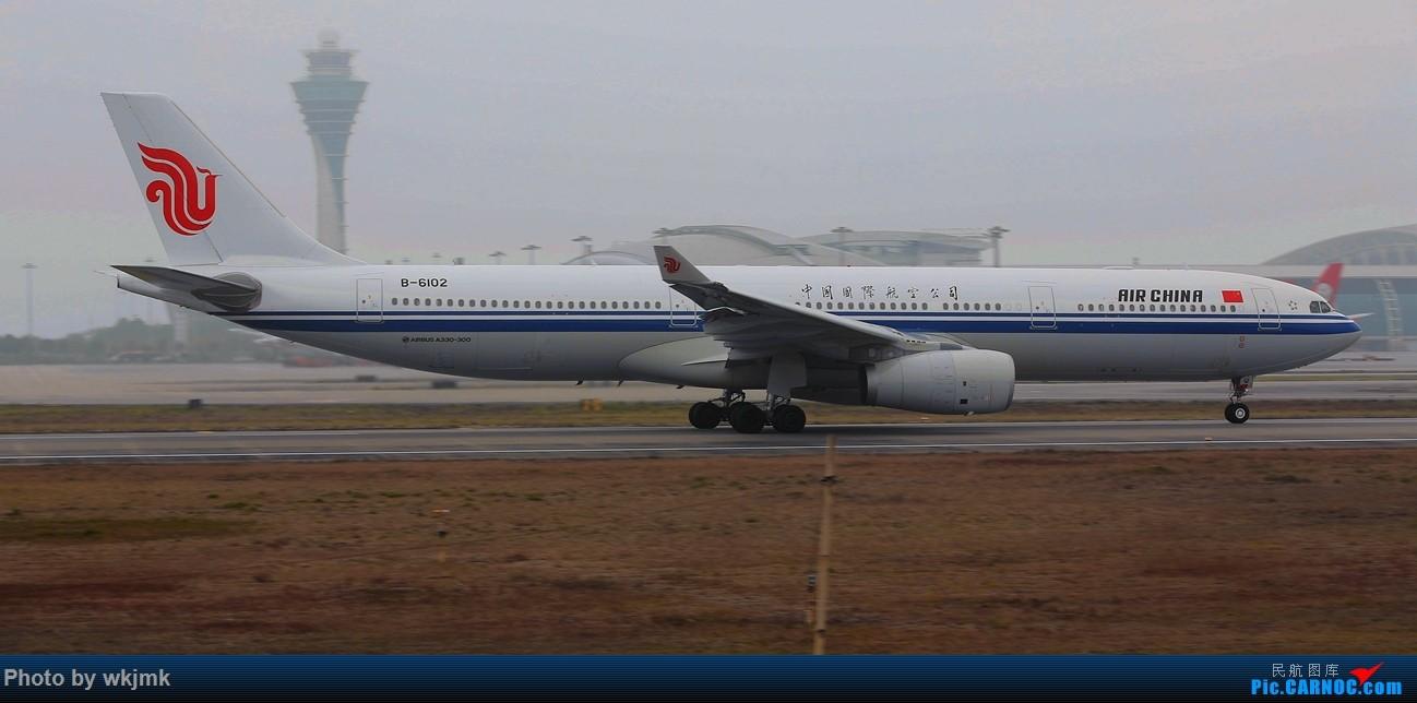 Re:[原创]广州拍即之旅 AIRBUS A330-300 B-6102 中国广州白云国际机场