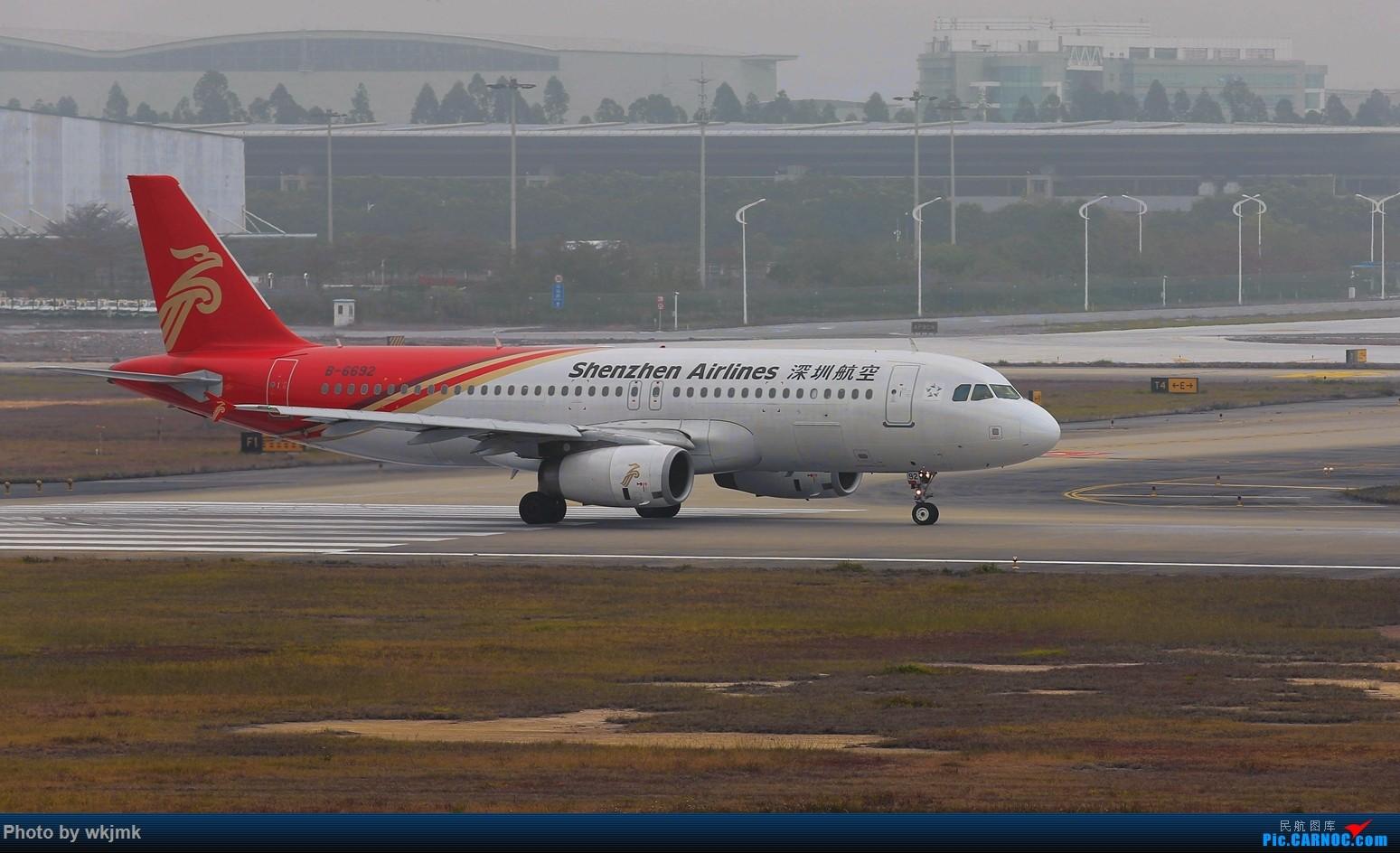 Re:[原创]广州拍即之旅 AIRBUS A320-200 B-6692 中国广州白云国际机场