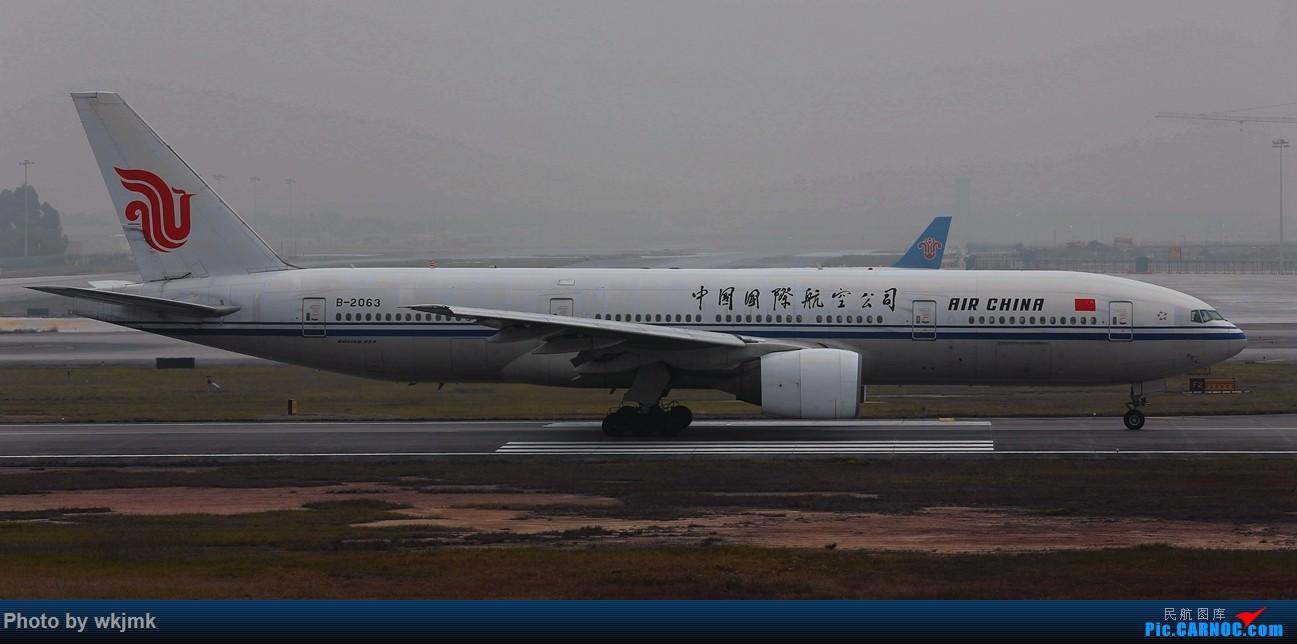Re:[原创]广州拍即之旅 BOEING 777-200 B-2063 中国广州白云国际机场