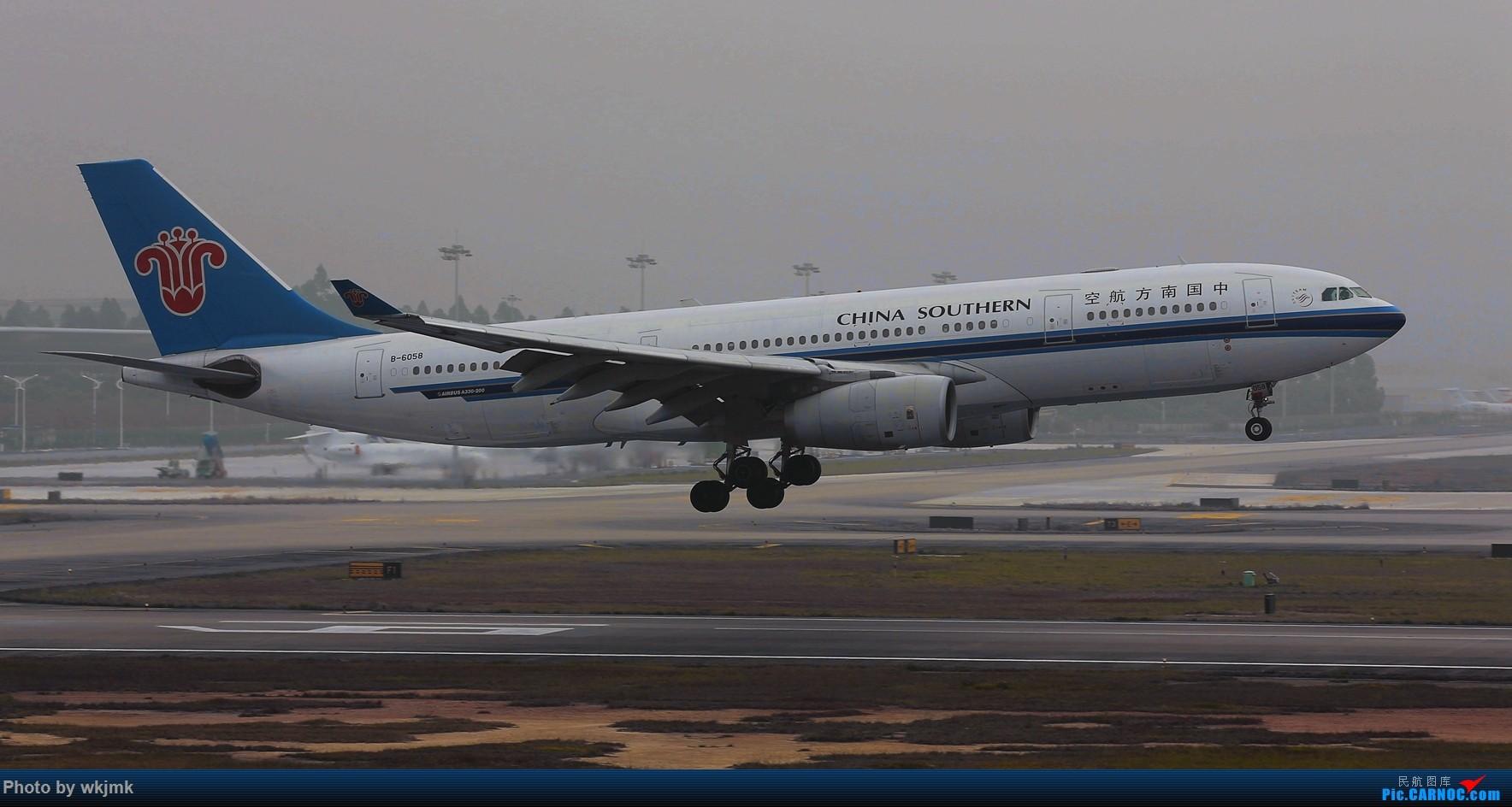 Re:[原创]广州拍即之旅 AIRBUS A330-200 B-6058 中国广州白云国际机场