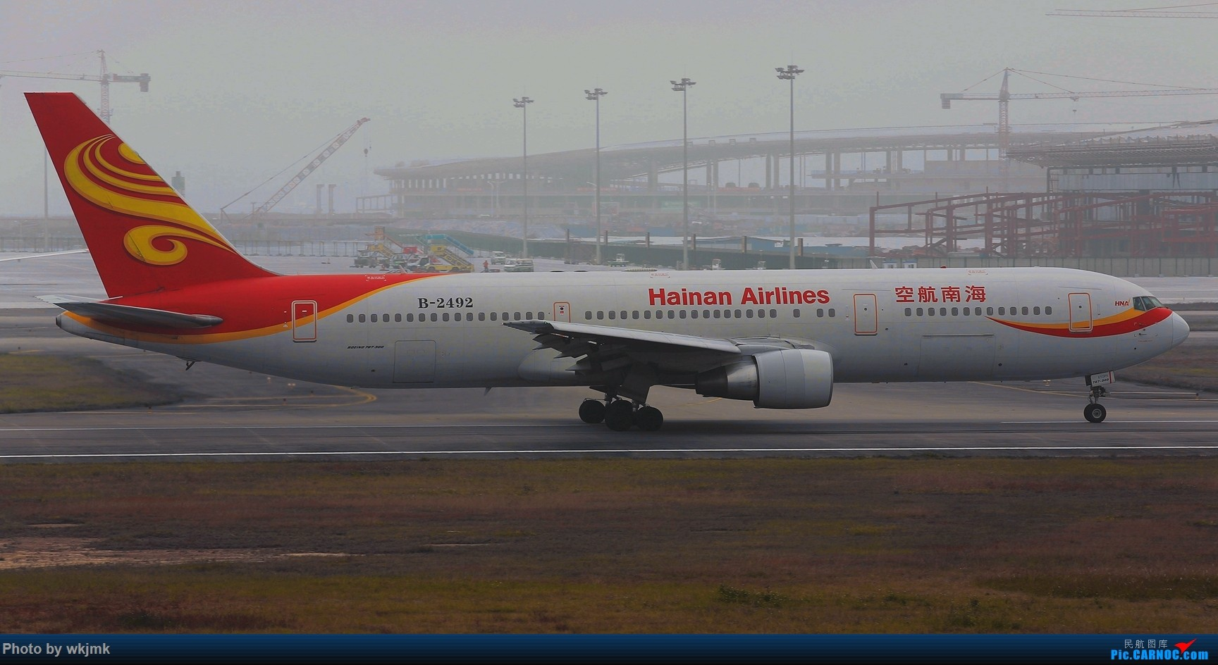 Re:[原创]广州拍即之旅 BOEING 767-300 B-2492 中国广州白云国际机场