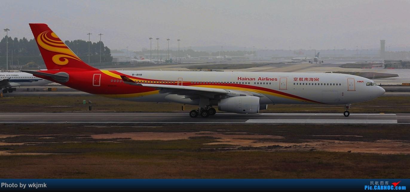 Re:[原创]广州拍即之旅 AIRBUS A330-300 B-8118 中国广州白云国际机场