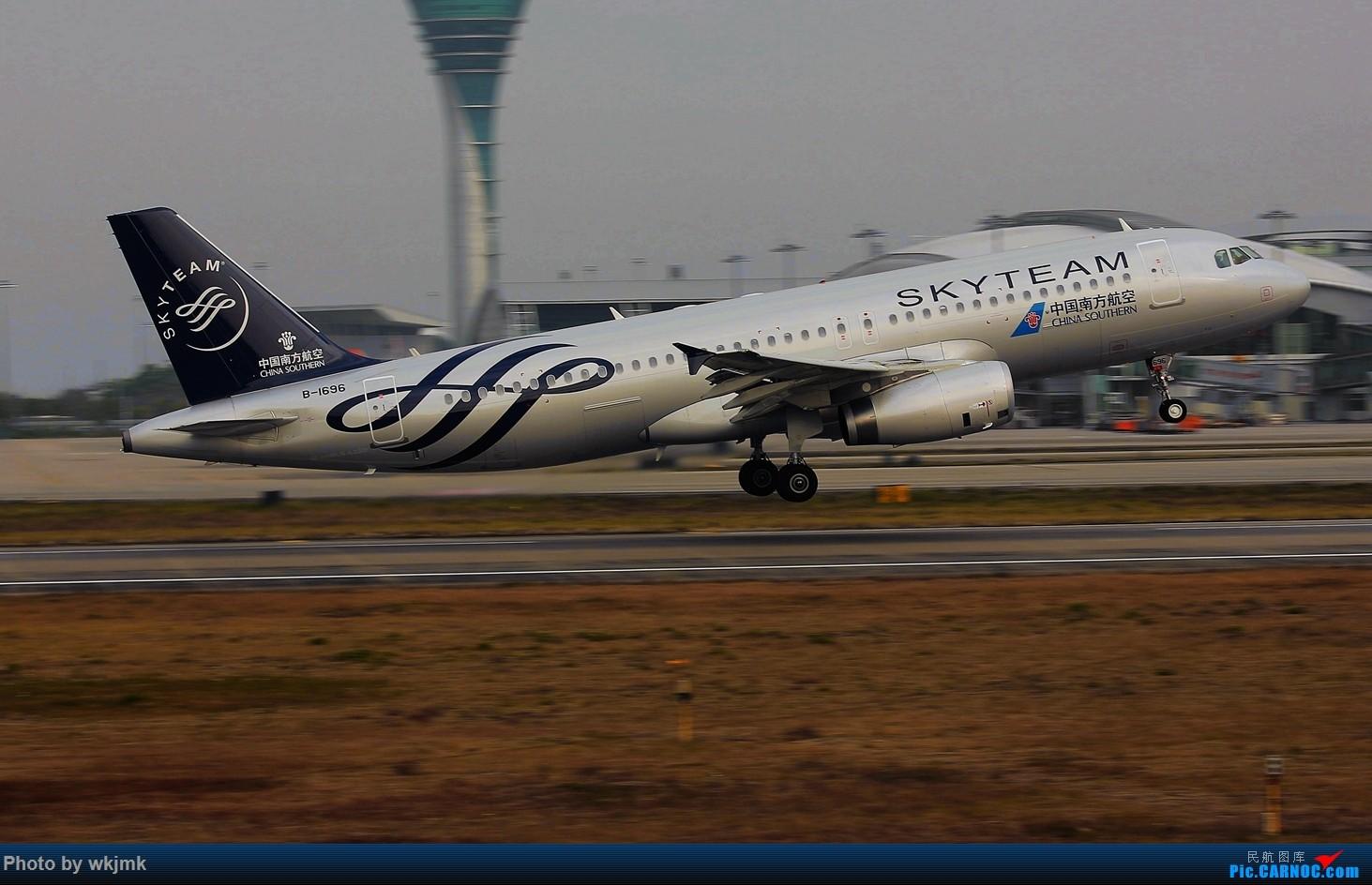 Re:[原创]广州拍即之旅 AIRBUS A320-200 B-1696 中国广州白云国际机场
