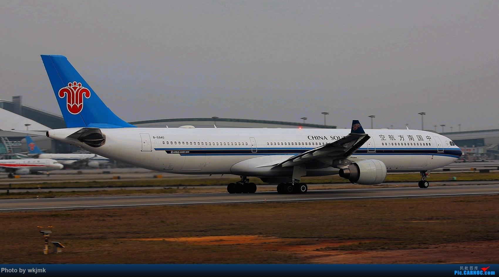 Re:[原创]广州拍即之旅 AIRBUS A330-300 B-5940 中国广州白云国际机场