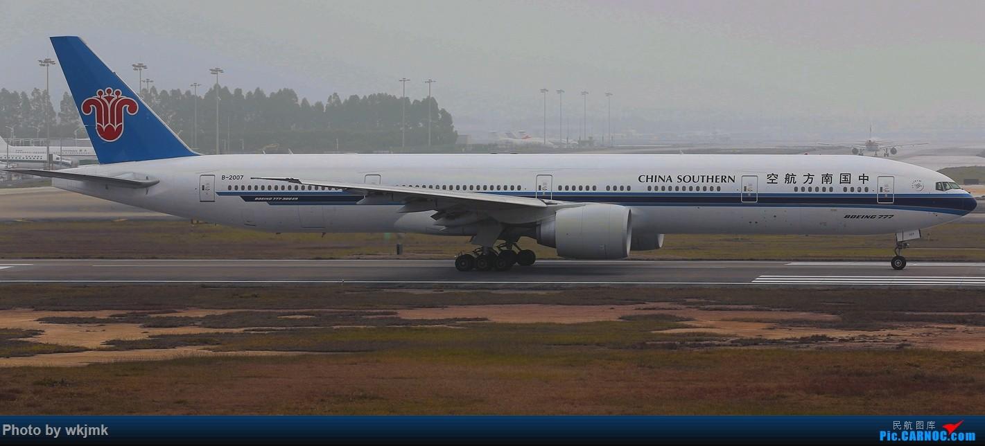 Re:[原创]广州拍即之旅 BOEING 777-300ER B-2007 中国广州白云国际机场