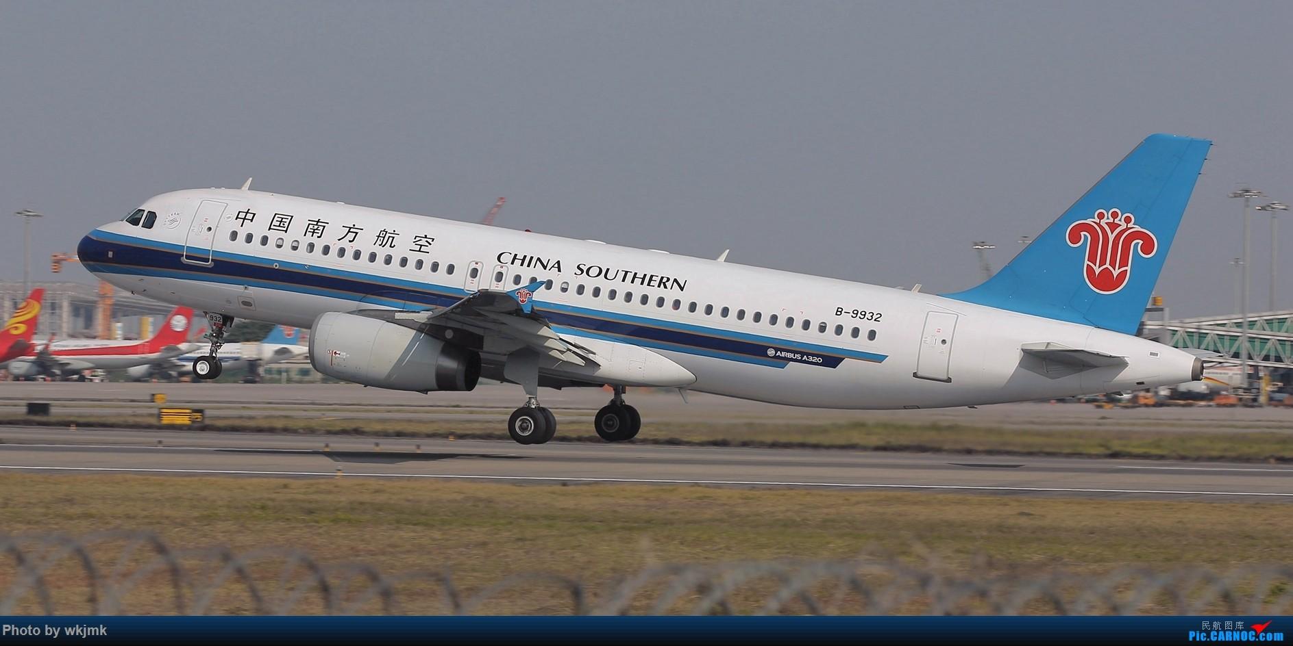 Re:[原创]广州拍即之旅 AIRBUS A320-200 B-9932 中国广州白云国际机场