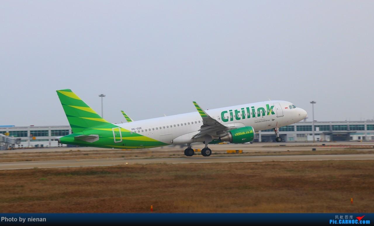 Re:[原创]印尼城市快线来一组 包机系列!!! AIRBUS A320-200 PK-GQE 中国福州长乐国际机场
