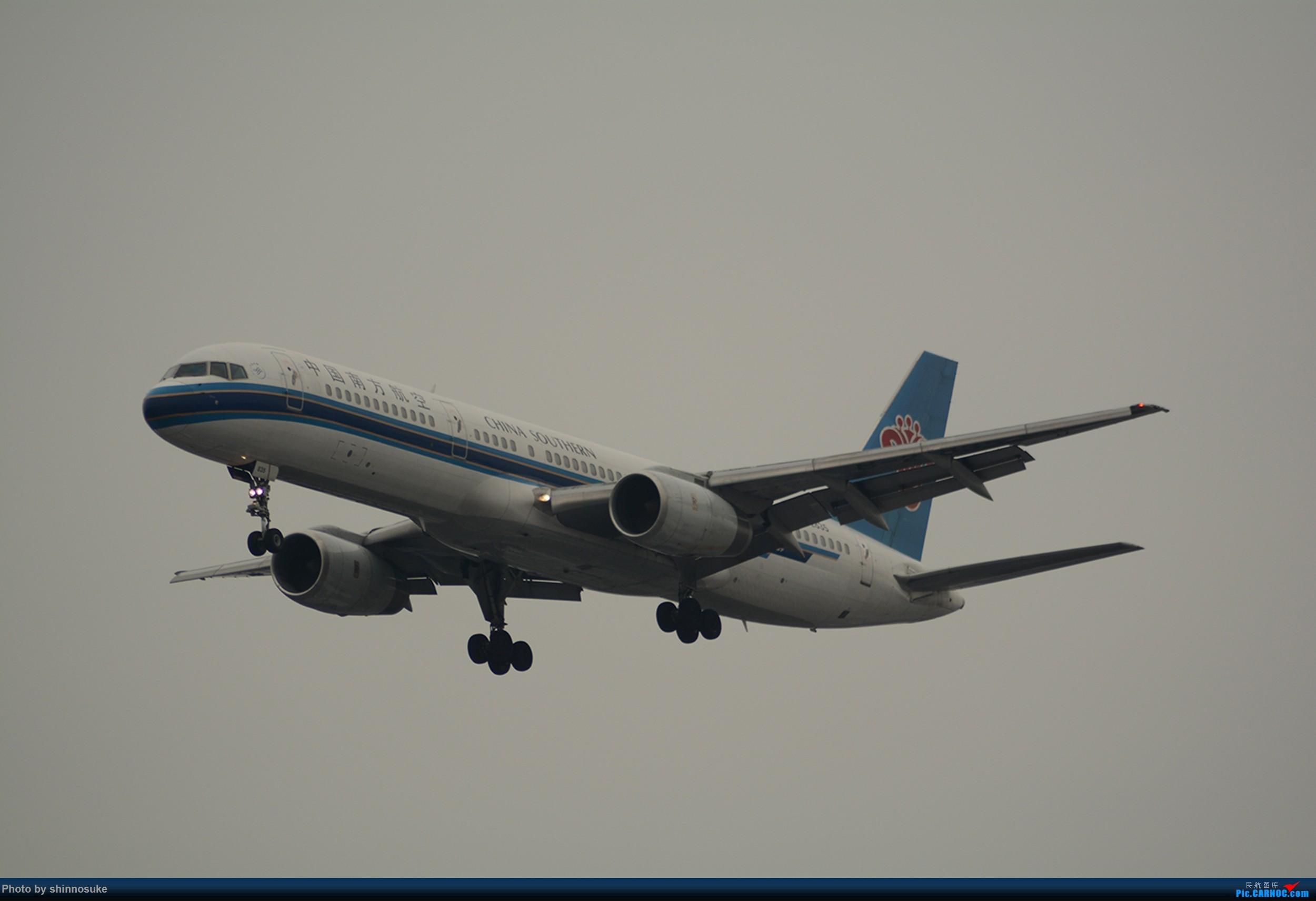 [原创]新人首次发图 BOEING 757-200 B-2835 中国上海虹桥国际机场
