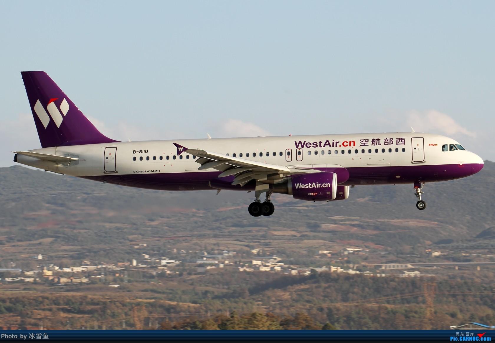 Re:[原创]【BLDDQ-昆明飞友会】春节假期有时间去长水拍拍,不要问我位置............ AIRBUS A320-200 B-8110 中国昆明长水国际机场
