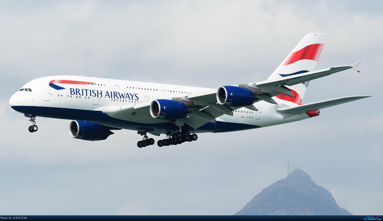 [原创]【木卯先生99】—【英航A380大图,祝愿各位朋友新春快乐,欢迎拷贝】3000×1687(网络限制最大图) AIRBUS A380 G-XLED 香港国际机场